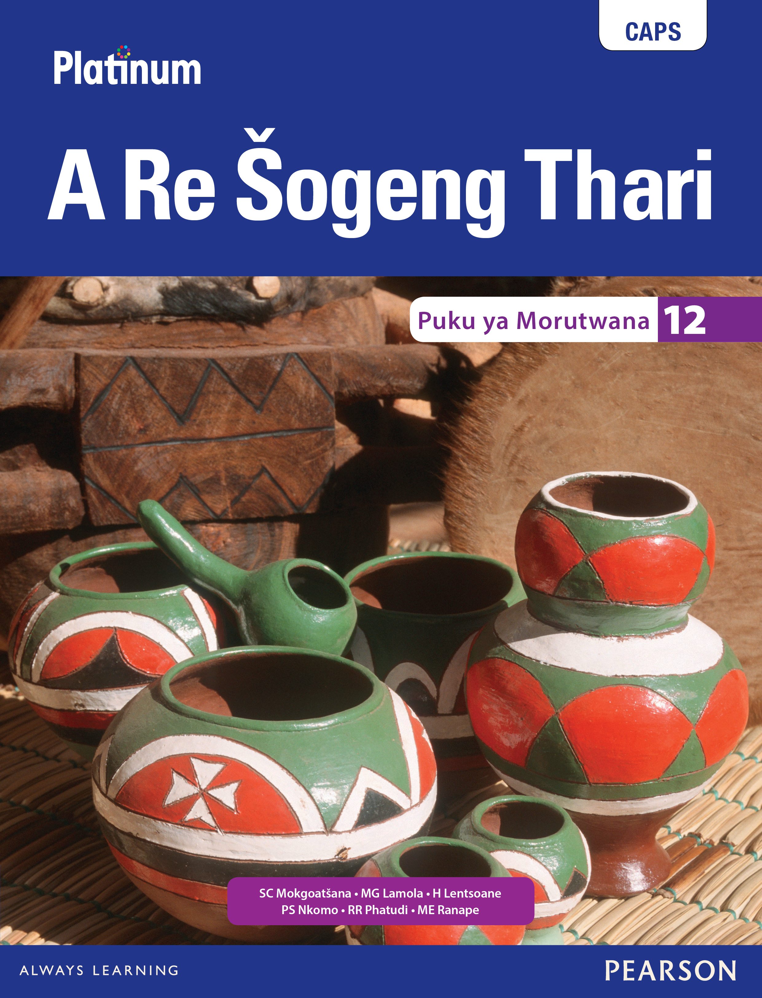 Picture of Platinum a re sogeng thari: Gr 12: Learner's book