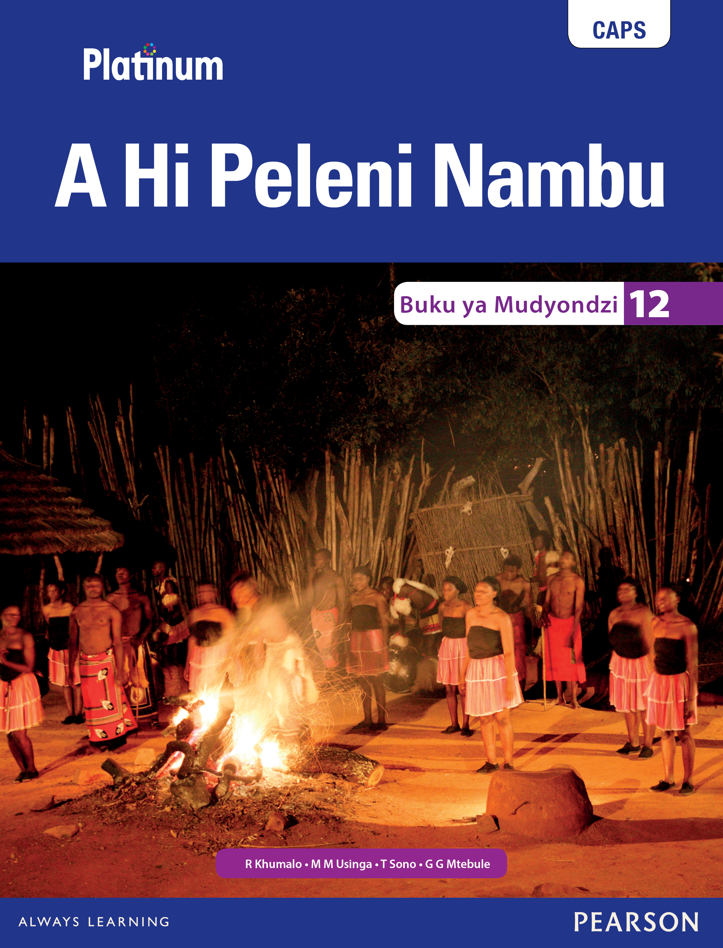 Picture of Platinum a hi peleni nambu: Gr 12: Learner's book