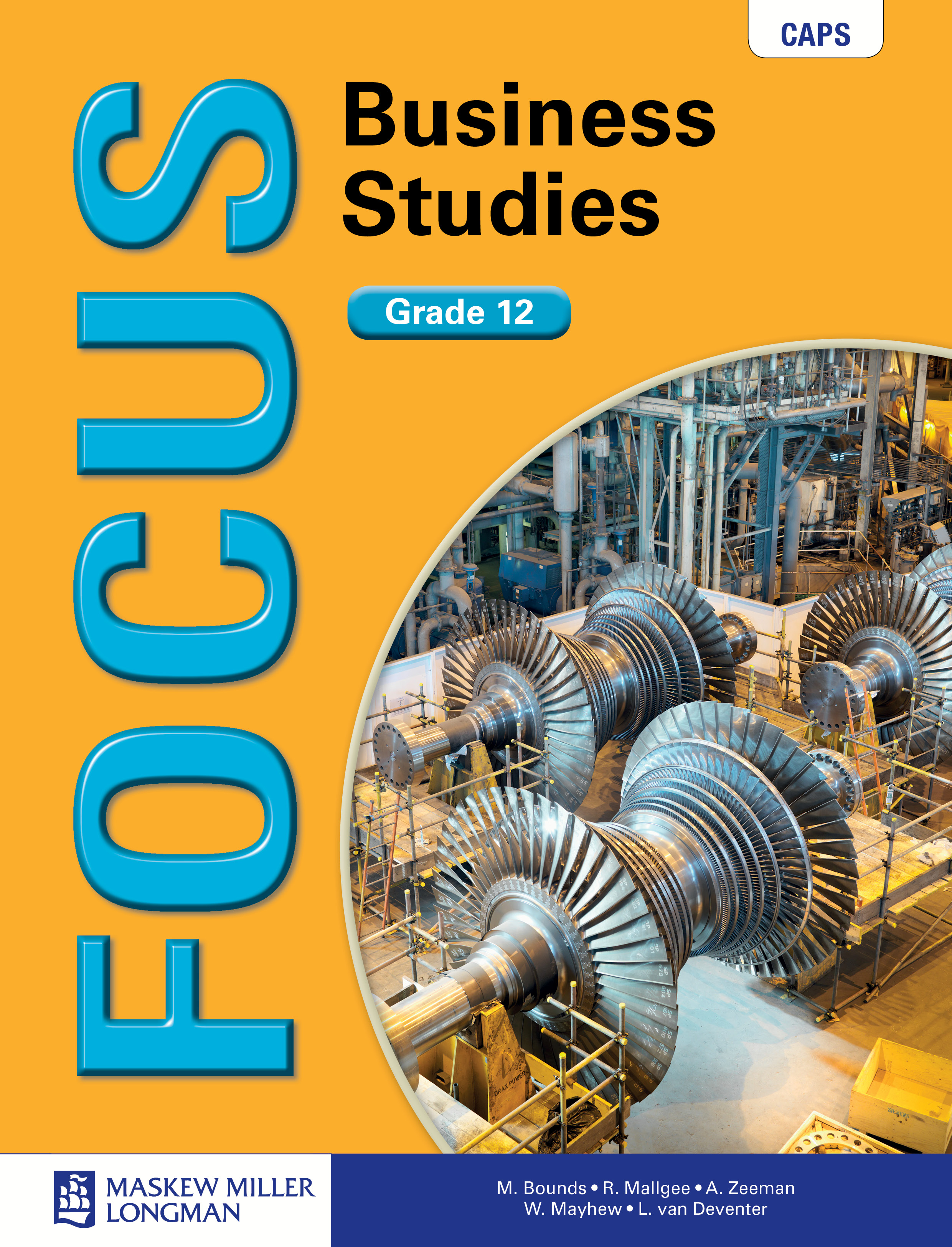 Picture of Focus business studies CAPS: Gr 12: Learner's book