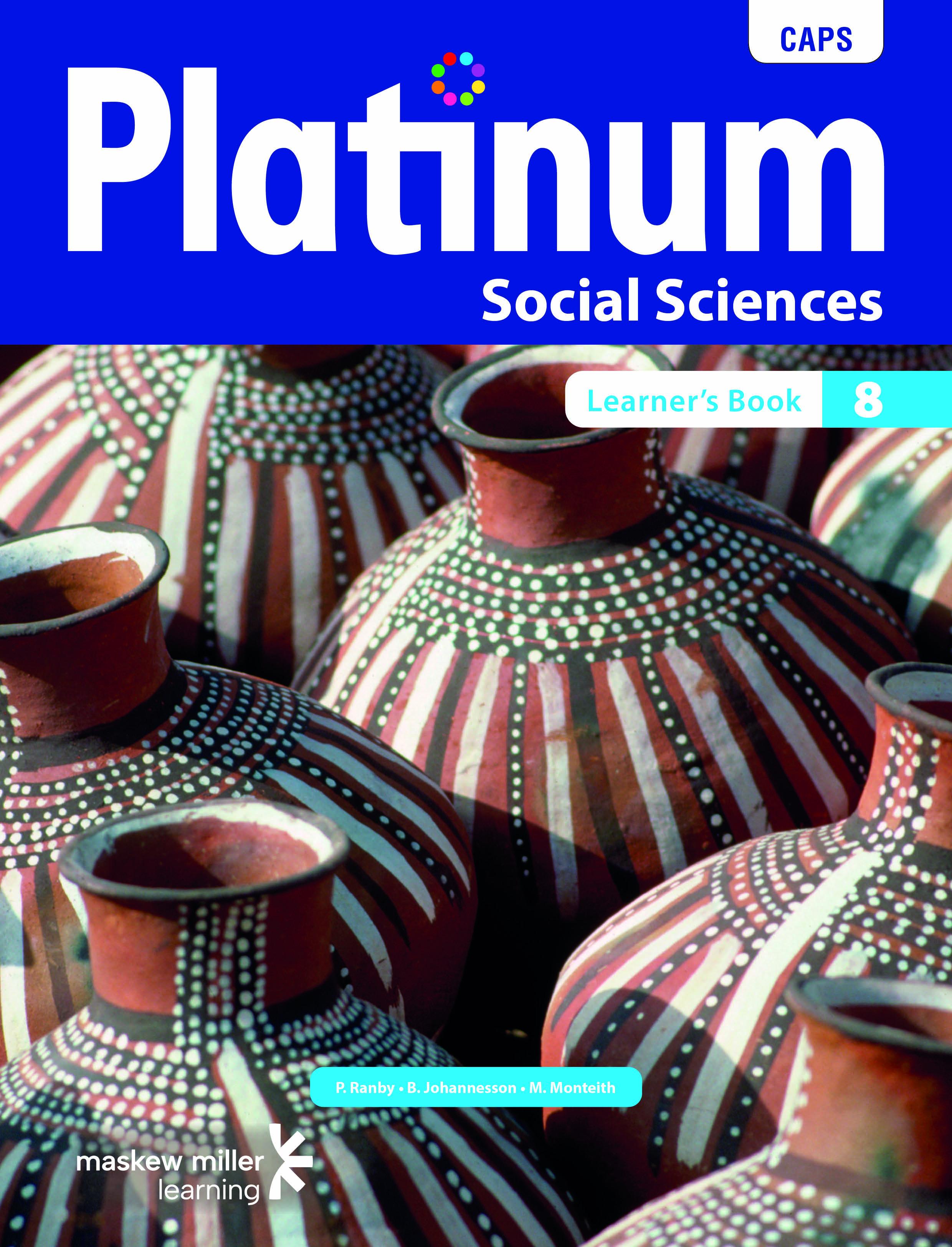Picture of Platinum Social Sciences CAPS: Platinum social sciences: Grade 8: Learner's book Gr 8: Learner's Book