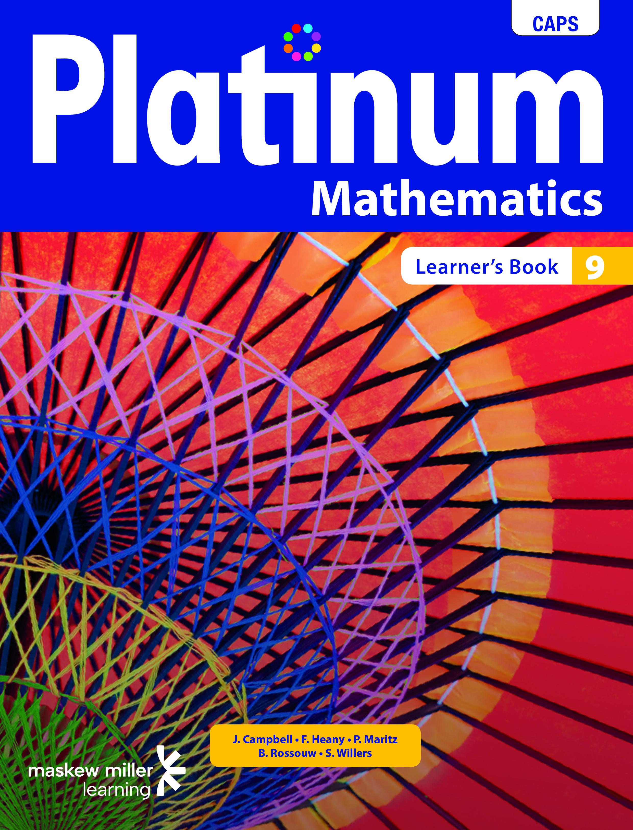 Platinum mathematics: Grade 9: Learner's book