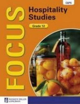 Picture of Focus hospitality studies CAPS: Gr 12: Learner's book