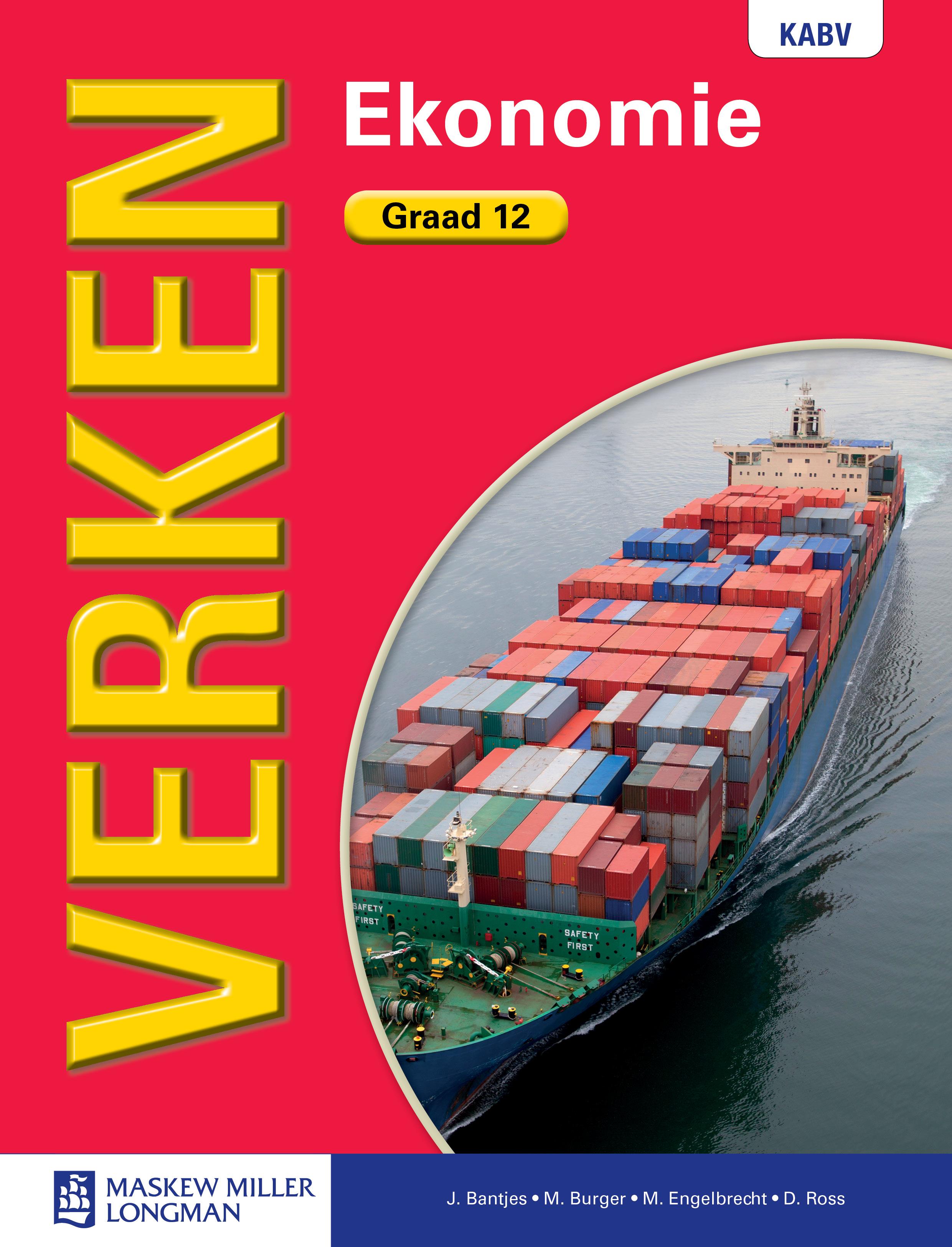 Picture of Verken ekonomie KABV: Gr 12: Leerdersboek