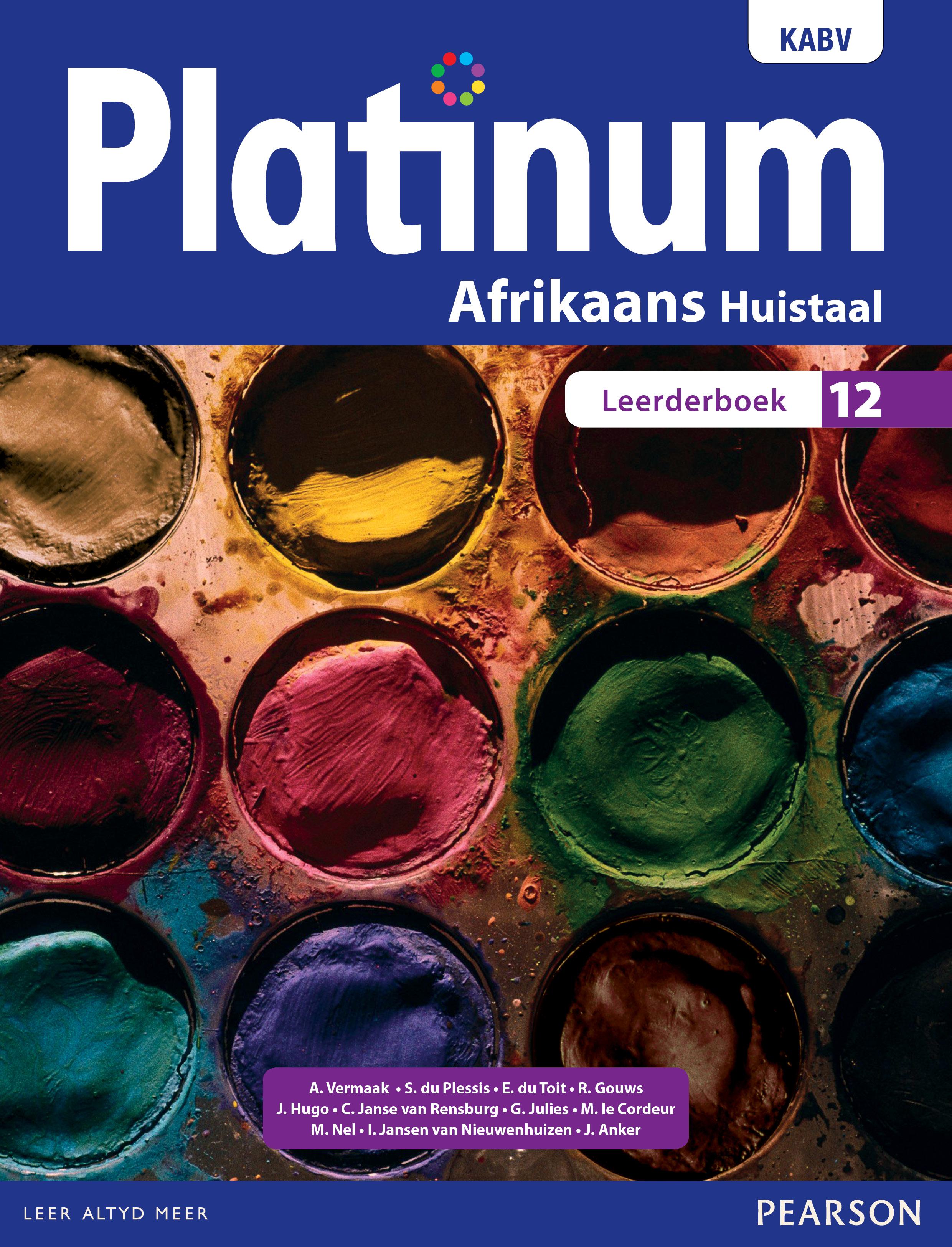 Picture of Platinum Afrikaans huistaal: Graad 12: Leerderboek