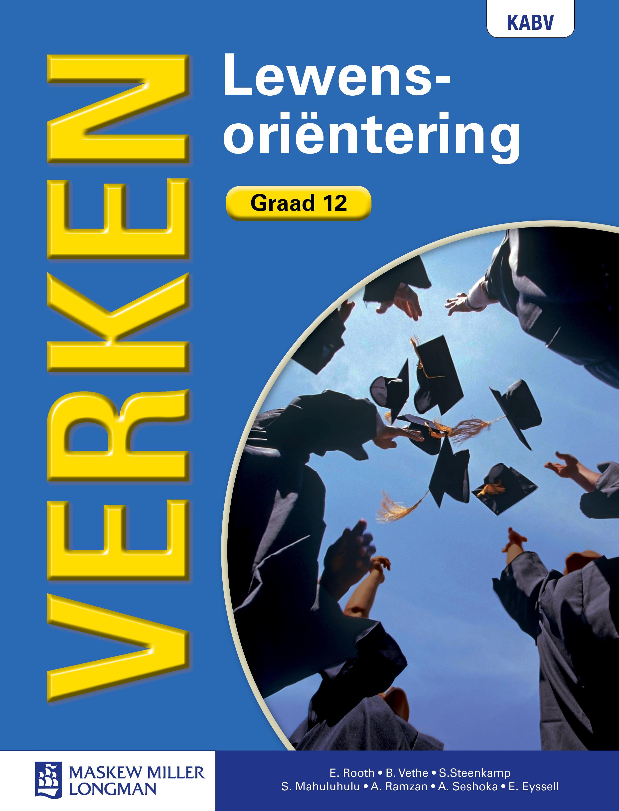 Picture of Verken Lewensorientering: Graad 12: Leerderboek : CAPS compliant