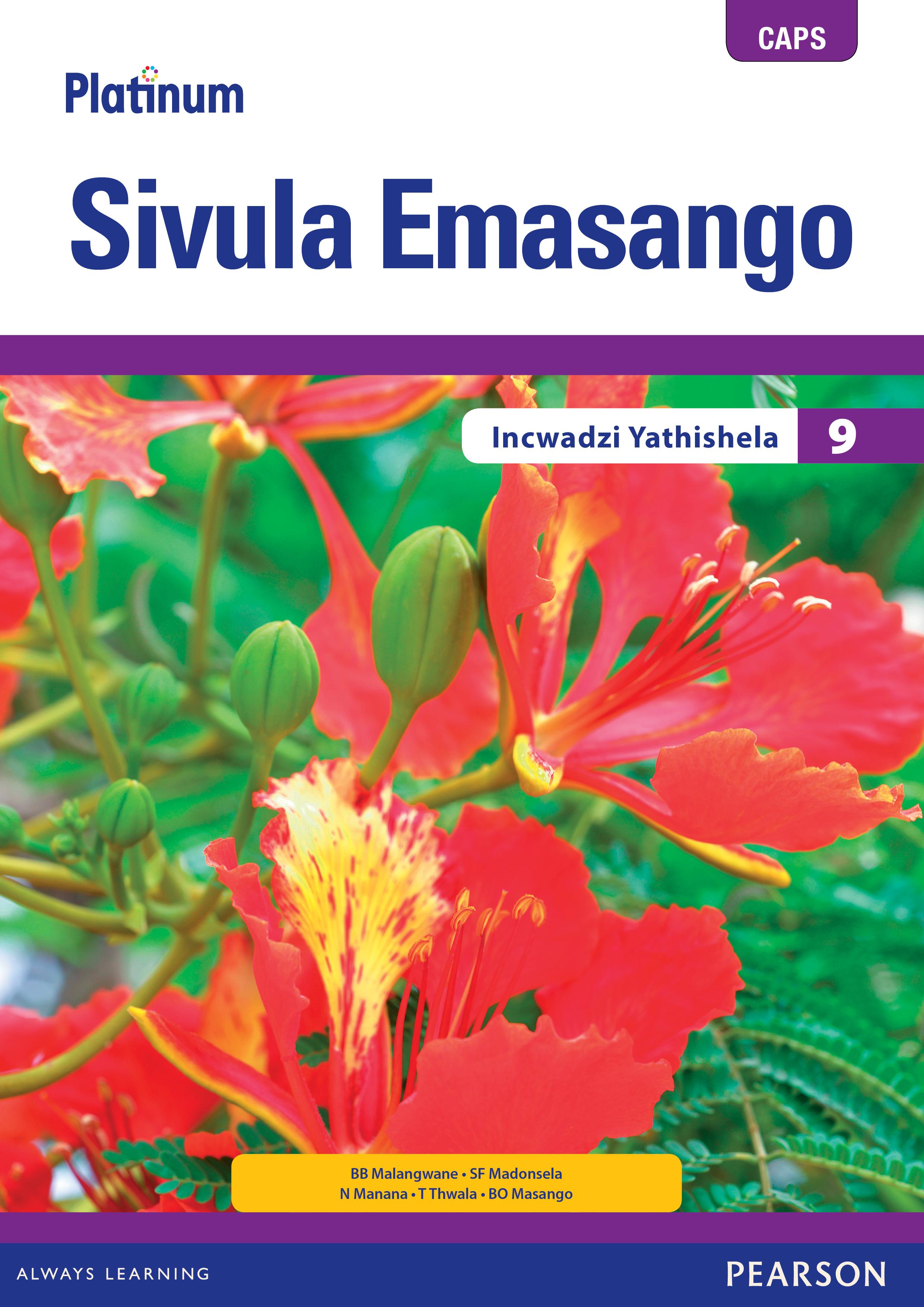 Picture of Platinum sivula emasango CAPS: Gr 9: Teacher's guide