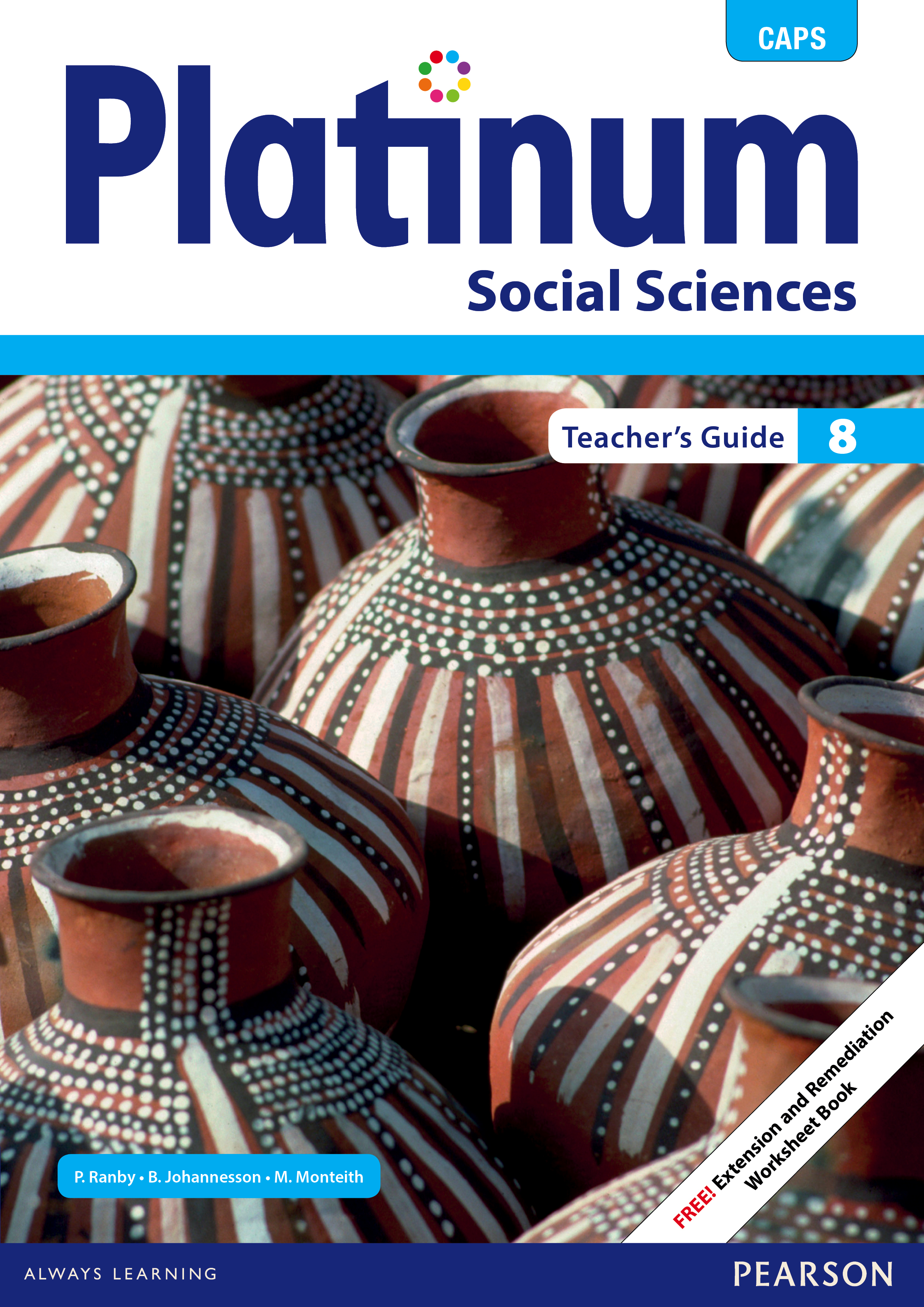 Picture of Platinum social sciences CAPS: Gr 8: Teacher's guide