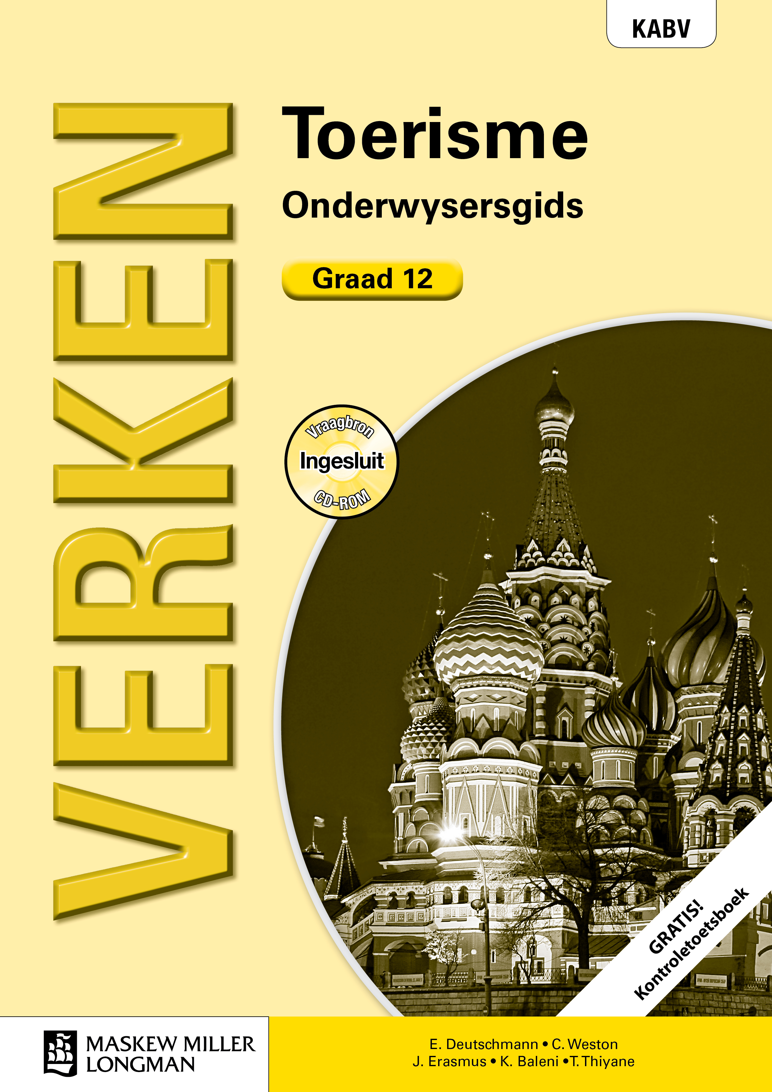 Picture of Verken toerisme KABV: Gr 12: Onderwysersgids