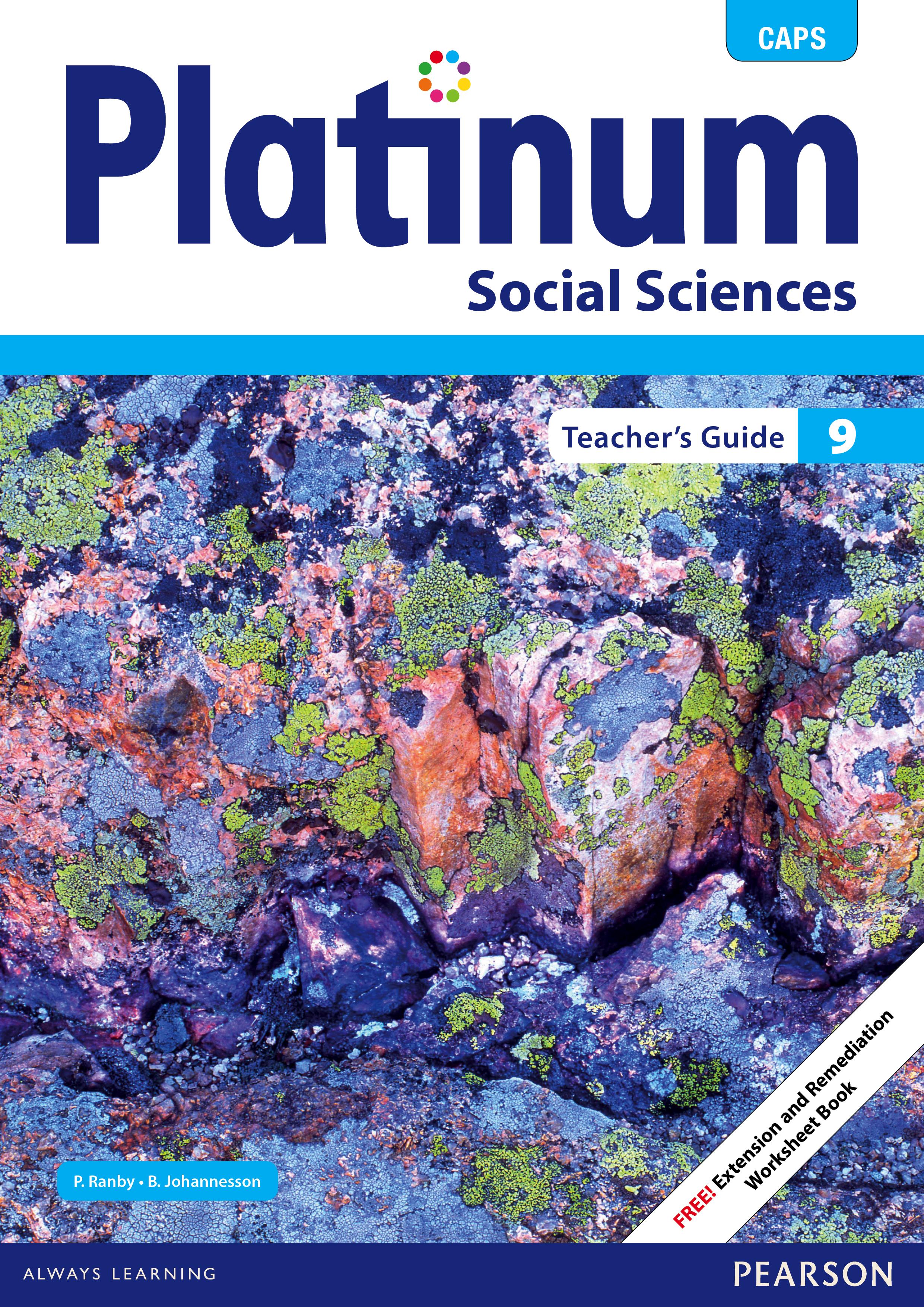 Picture of Platinum social sciences CAPS: Gr 9: Teacher's guide