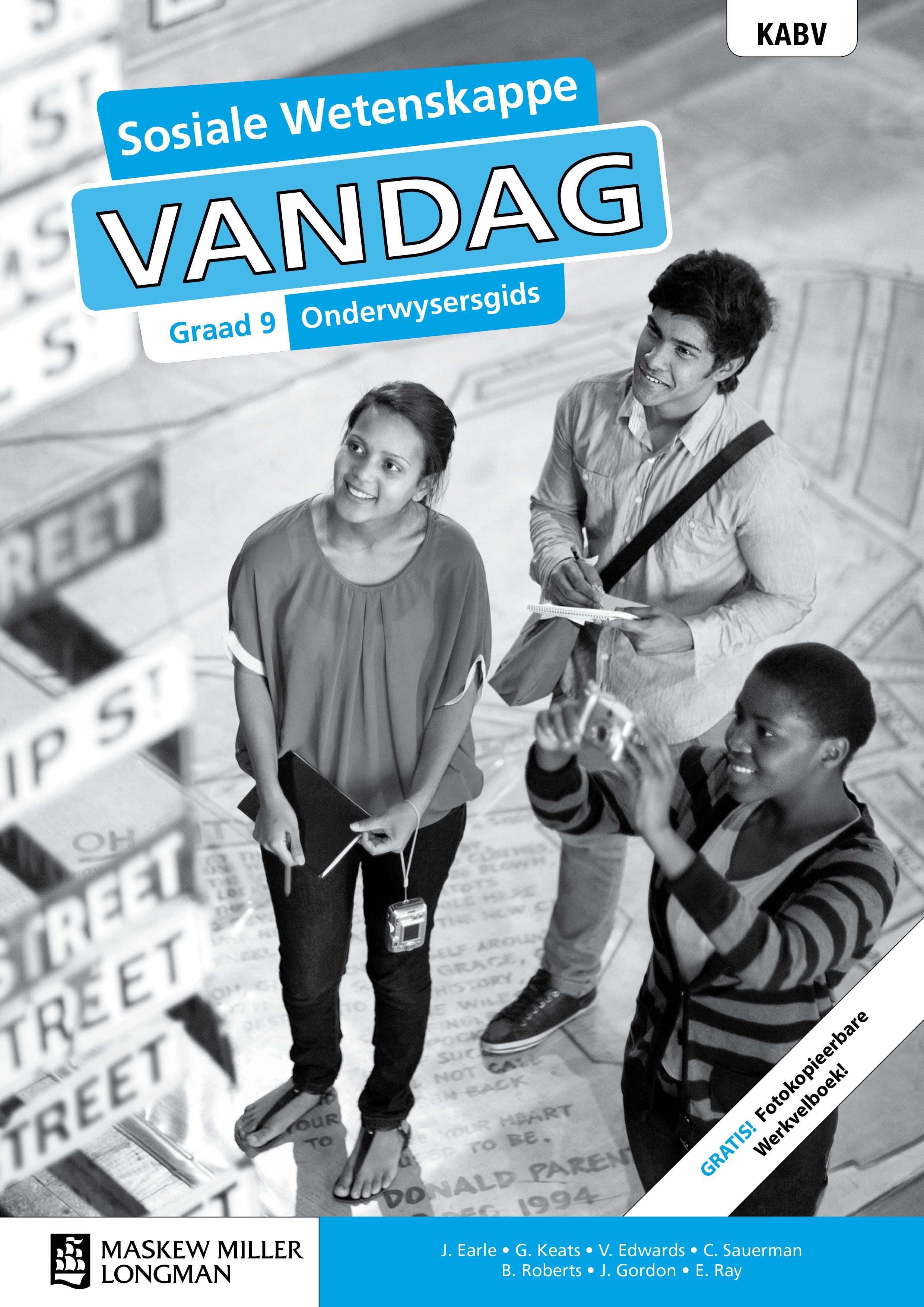 Picture of Sosiale wetenskappe vandag KABV: Gr 9: Onderwysersgids