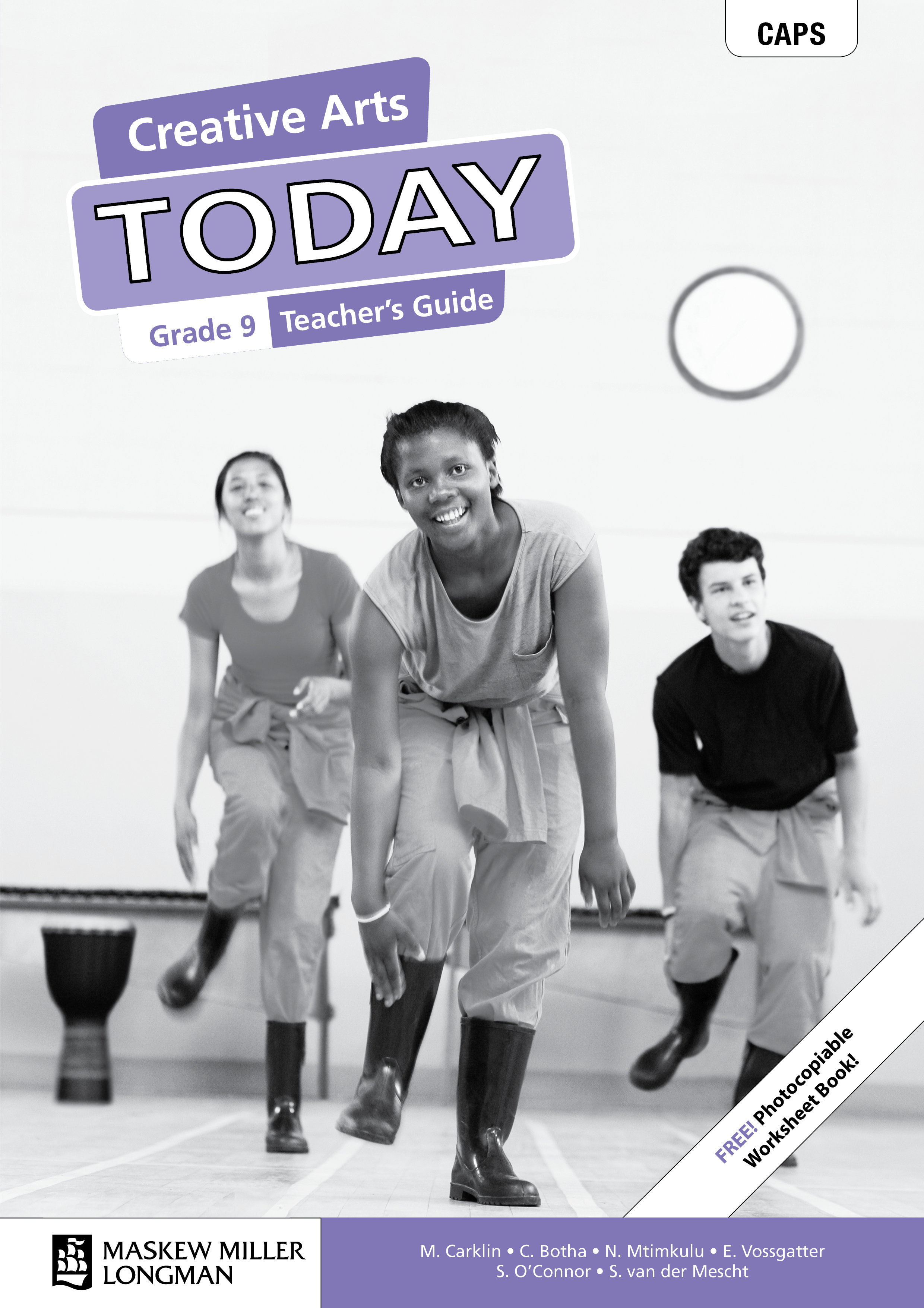 Picture of Creative Arts Today: Grade 9: Teacher's Guide (Includes Photocopiable Worksheet Book)