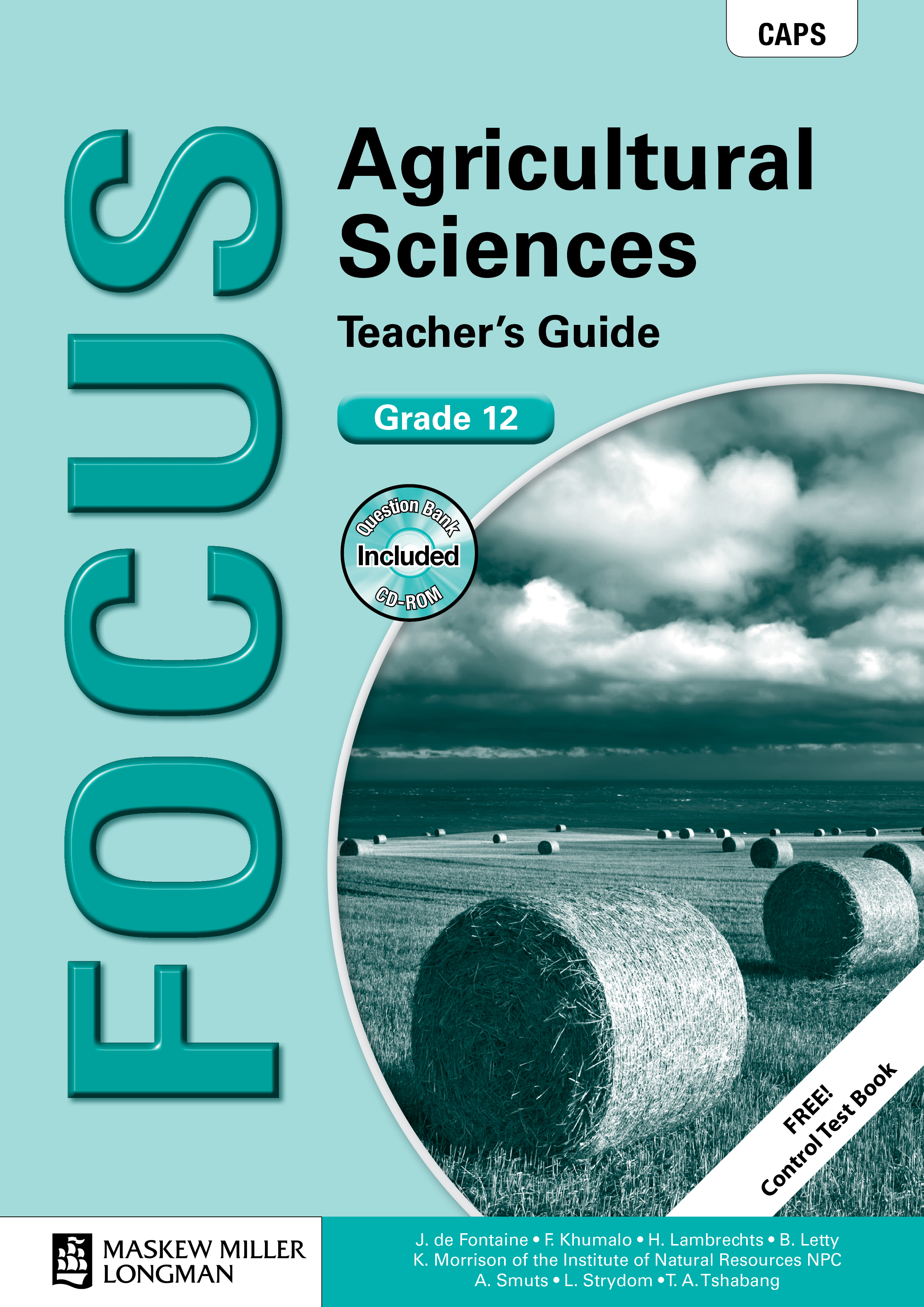 Picture of Focus agricultural sciences: Gr 12: Teacher's guide