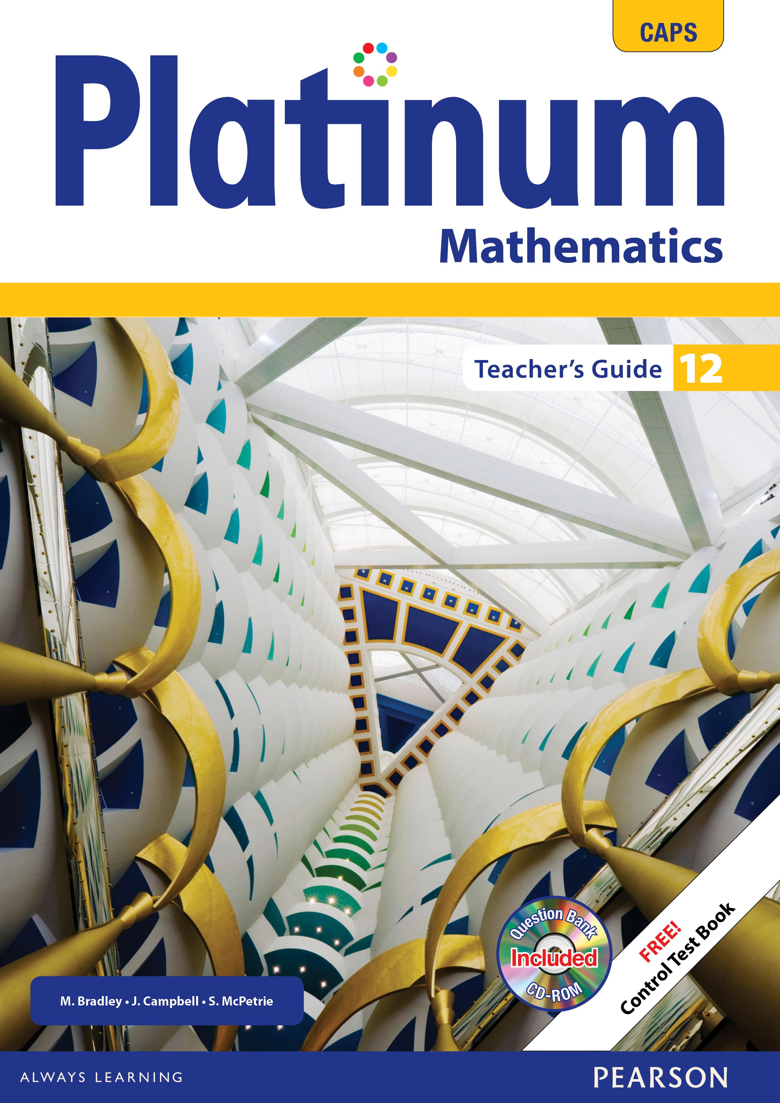 Picture of Platinum mathematics CAPS: Gr 12: Teacher's guide