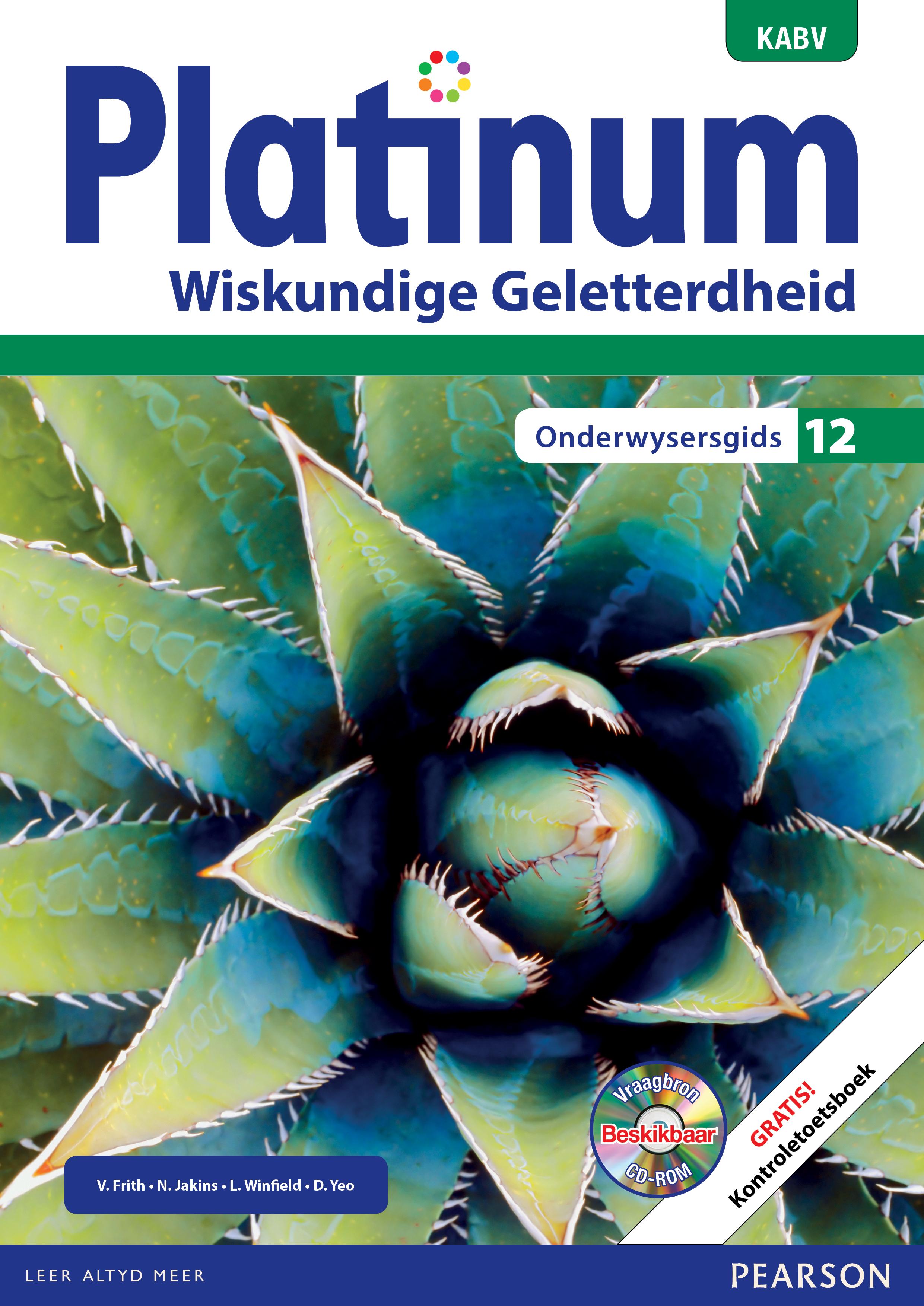 Picture of Platinum wiskundige geletterdheid KABV: Gr 12: Onderwysersgids