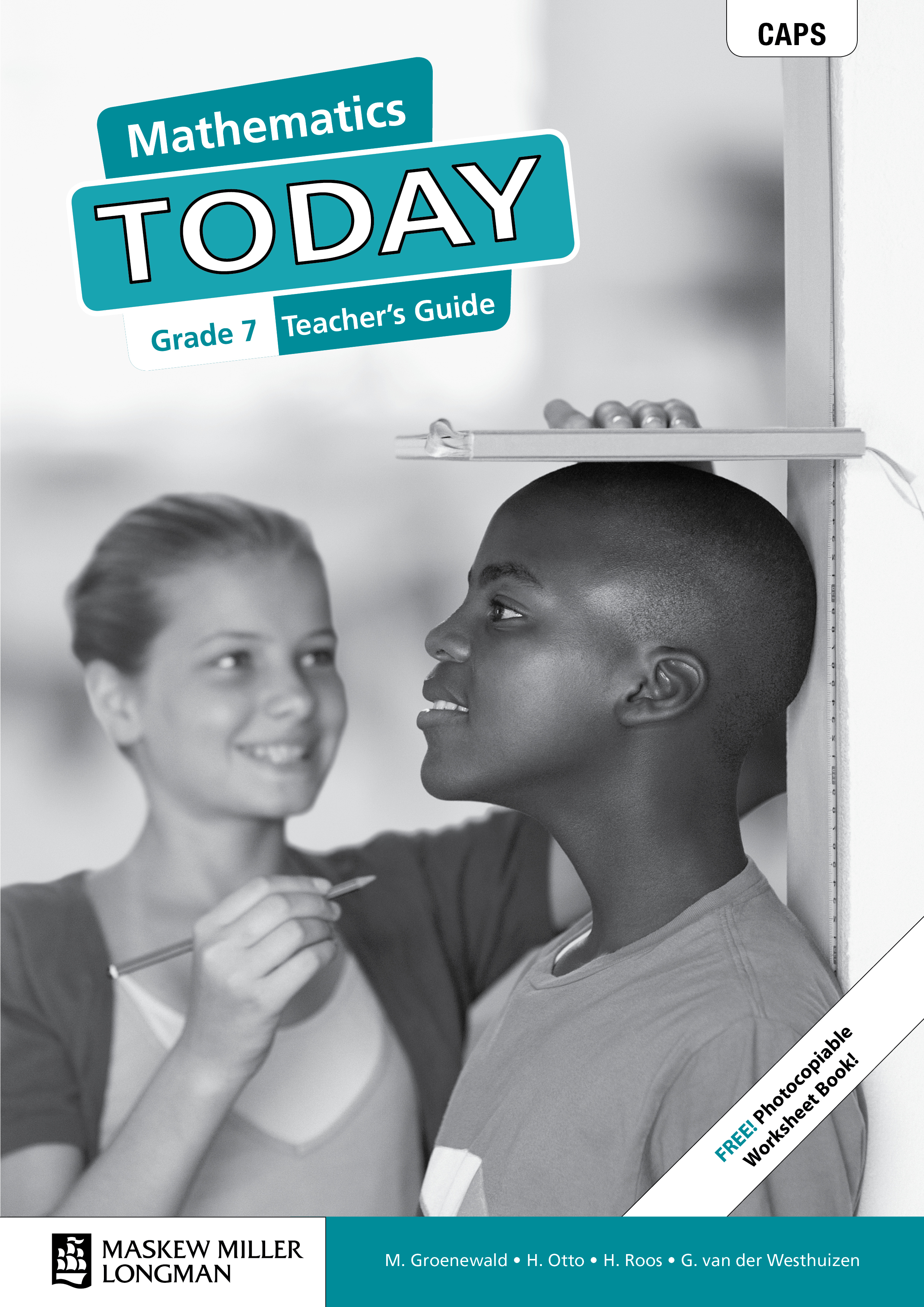 Picture of Mathematics today CAPS: Gr 7: Teacher's guide