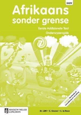 Picture of Afrikaans sonder grense KABV: Gr 7: Onderwysersgids : Eerste addisionele taal