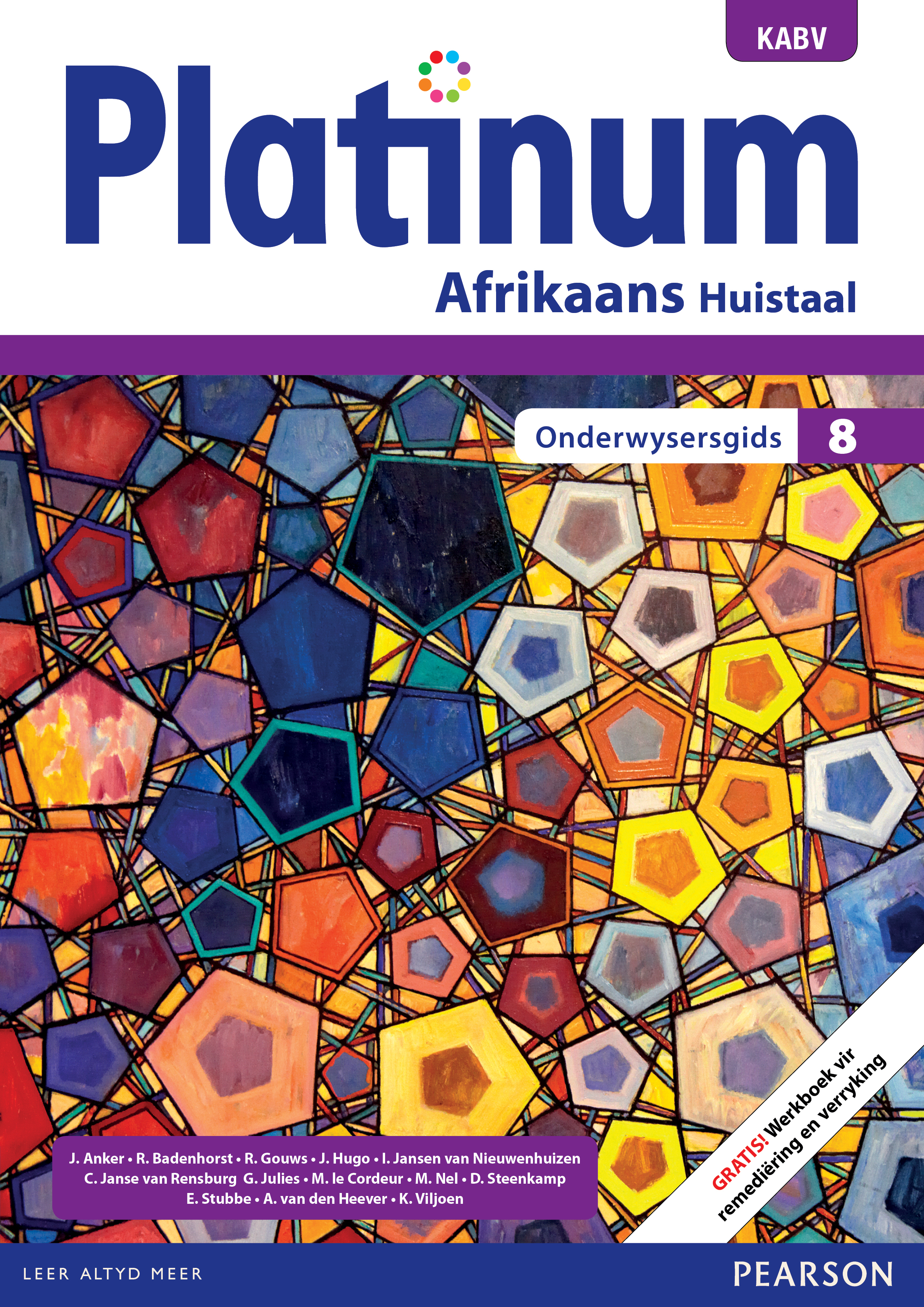 Picture of Platinum Afrikaans KABV: Gr 8: Onderwysersgids : Huistaal