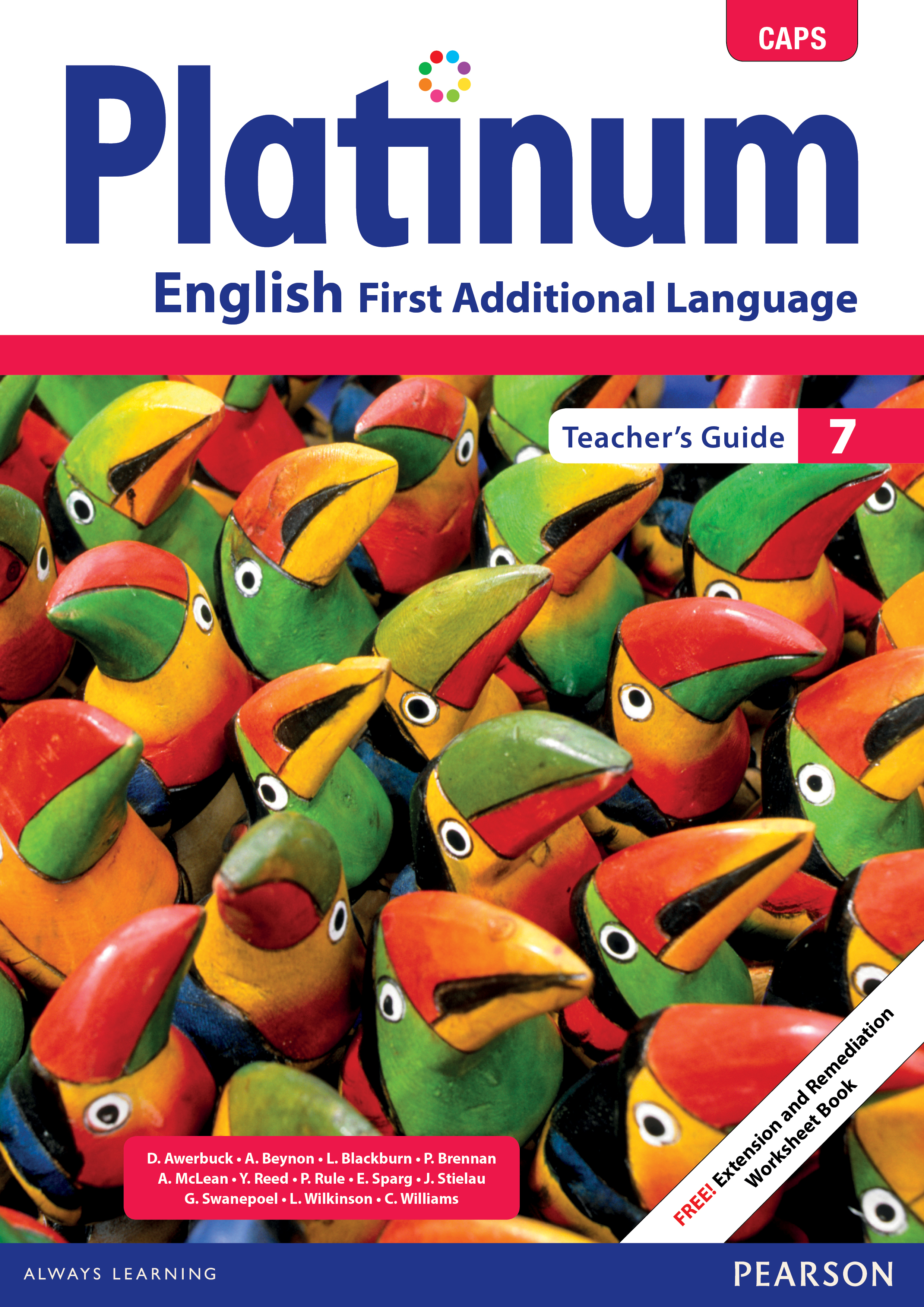 Picture of Platinum English CAPS: Gr 7: Teacher's guide : First additional language
