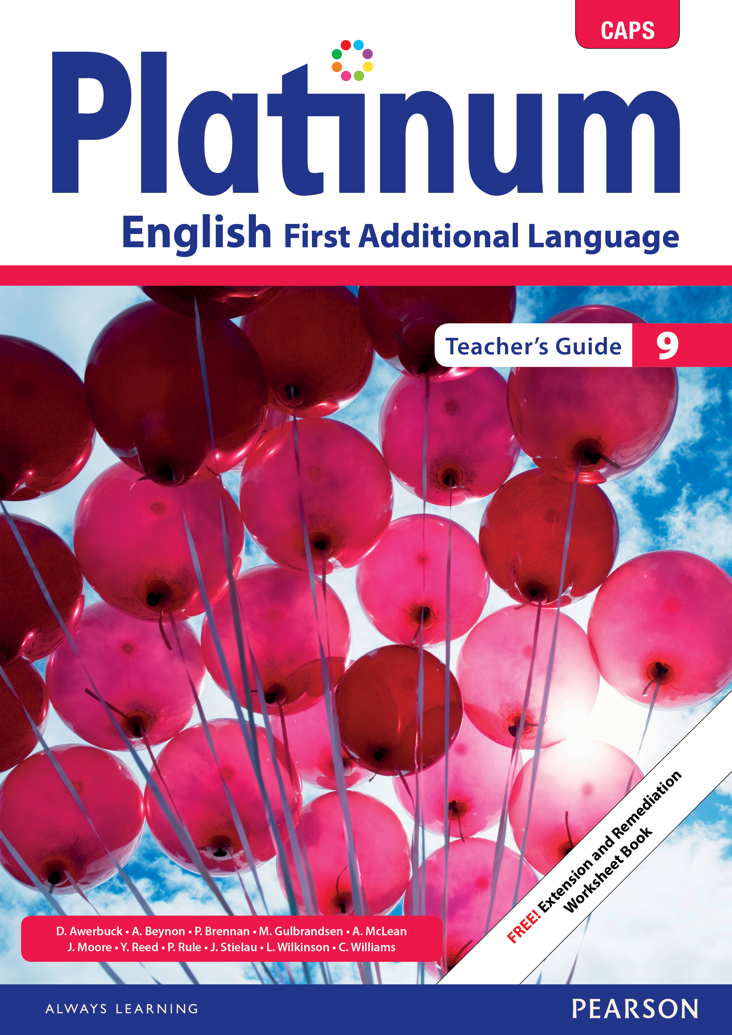 Picture of Platinum English CAPS: Gr 9: Teacher's guide : First additional language