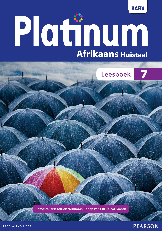 Picture of Platinum Afrikaans huistaal: Graad 7: Leesboek