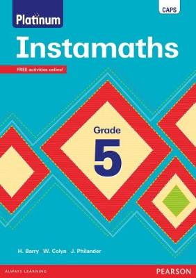 Picture of Instamaths: Grade 5: Workbook : CAPS aligned