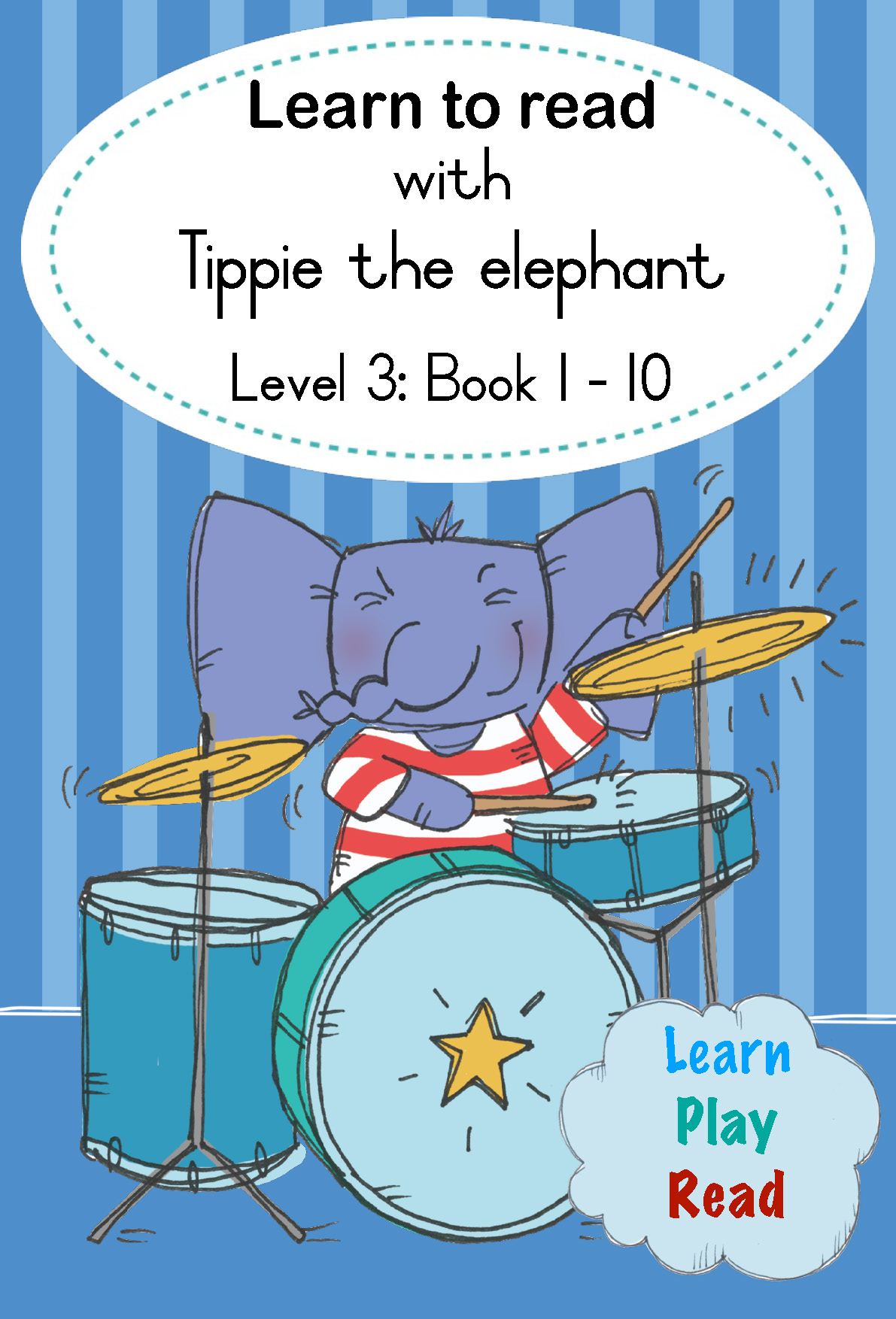 Learn to Read With Tippie the Elephant Level 3 Boxset