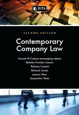 Picture of Contemporary company law