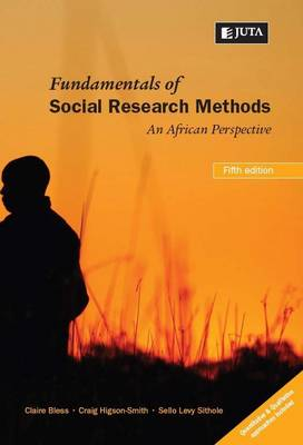 Picture of Fundamentals of social research methods
