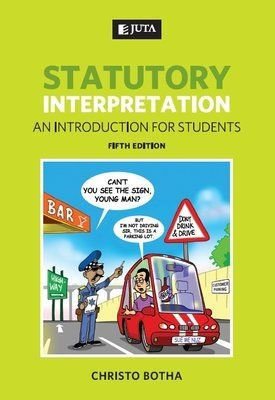 Picture of Statutory interpretation : An introduction for students