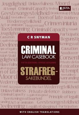 Picture of Criminal law casebook / Strafregsakebundel