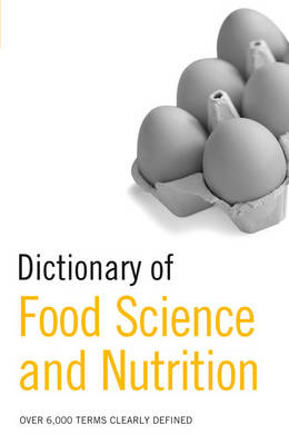 Picture of Dictionary of Food Science and Nutrition