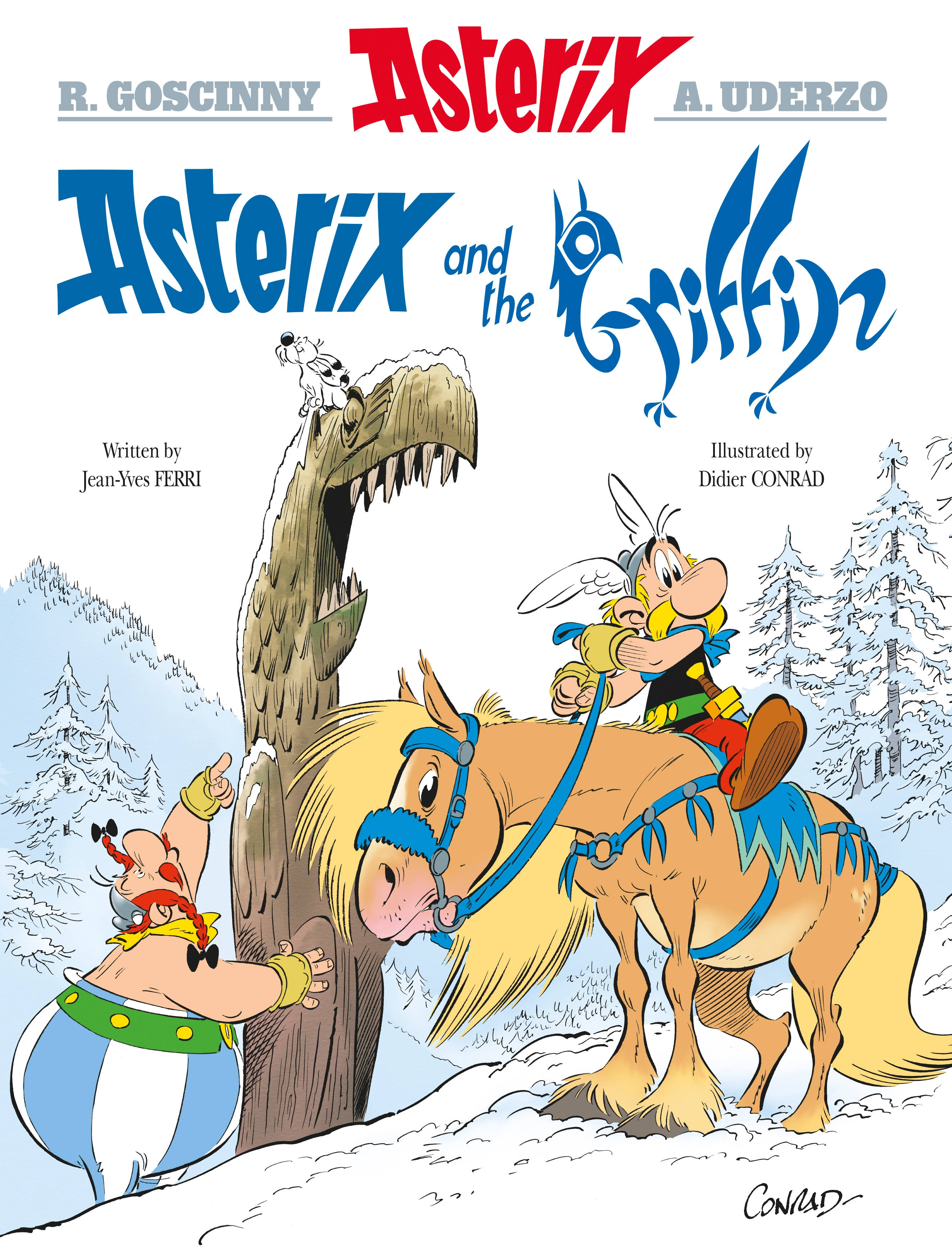 Picture of Asterix and the Griffin: Album 39