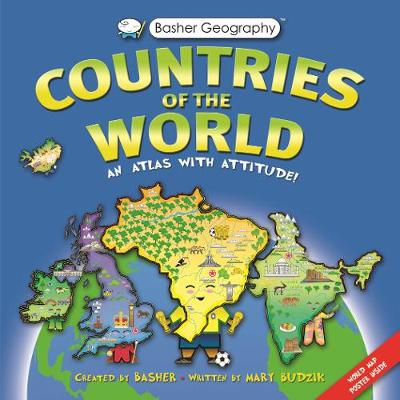 Picture of Basher Countries of the World: An Atlas with Attitude