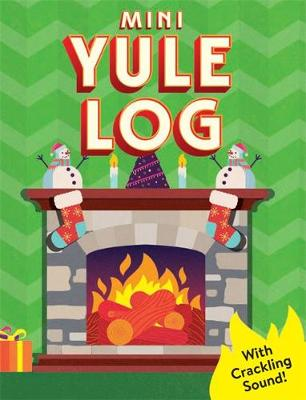 Picture of Mini Yule Log : With crackling sound!