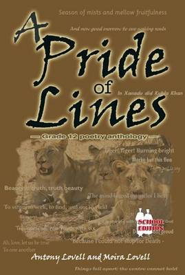 Picture of A pride of lines (poetry anthology) : Gr 12