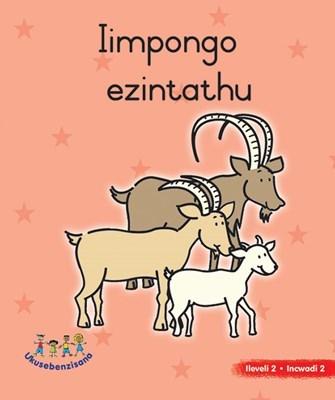 Picture of Iimpongo Ezintathu : Grade R : Picture Book Level 2, Book 2