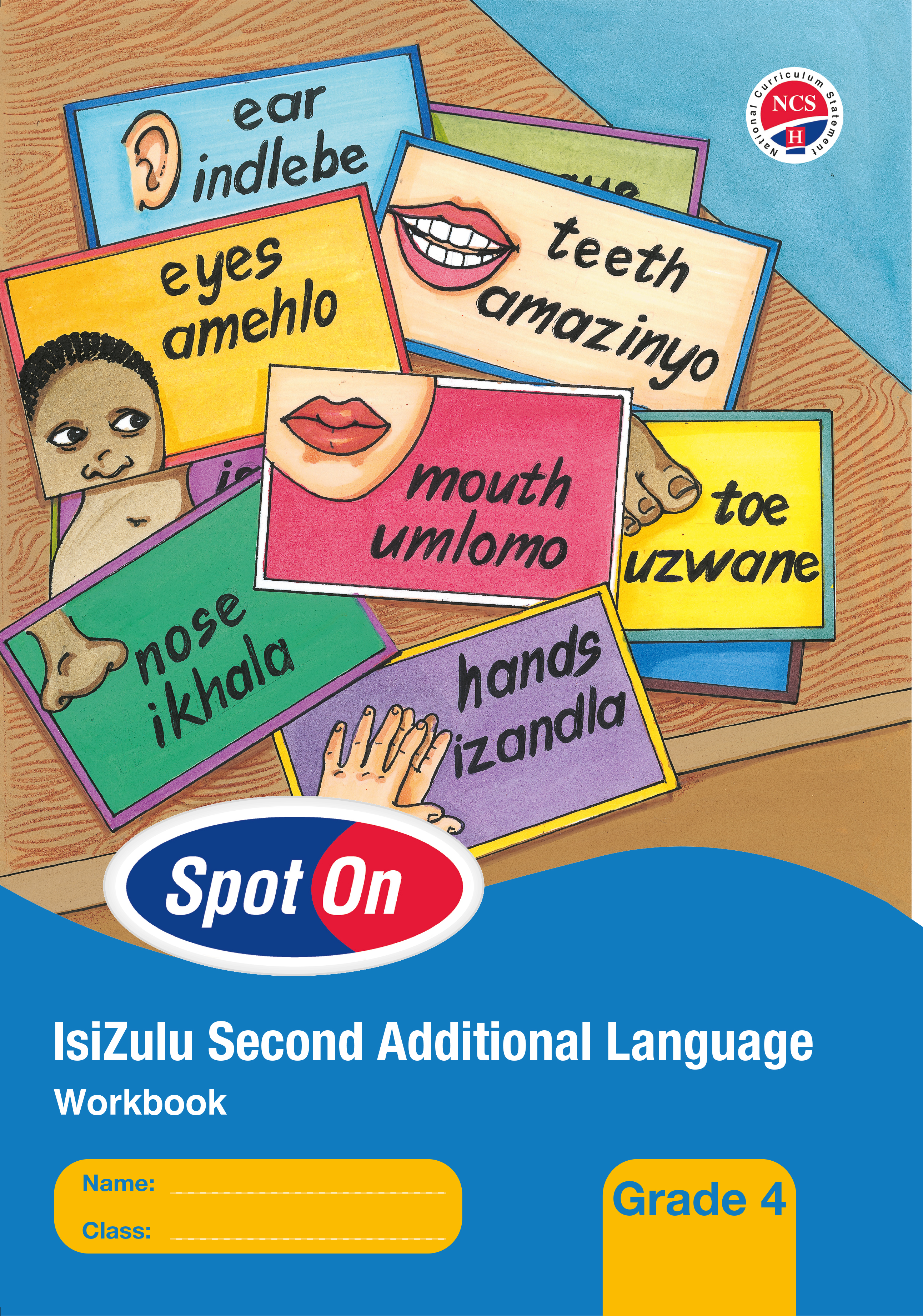Picture of Spot On IsiZulu (Second Additional Language): Grade 4: Workbook