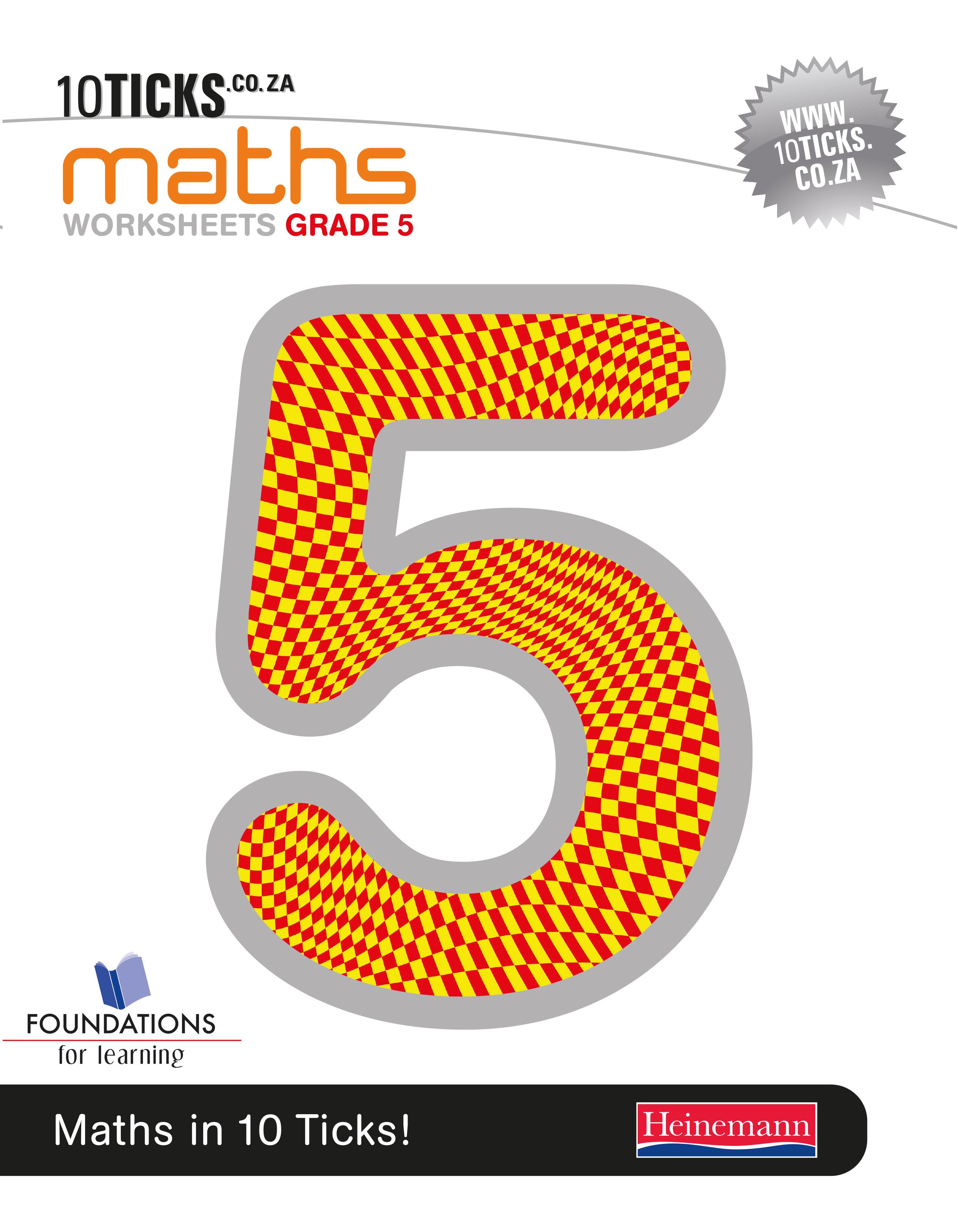 Picture of 10 Ticks Maths : Grade 5 : Workbook