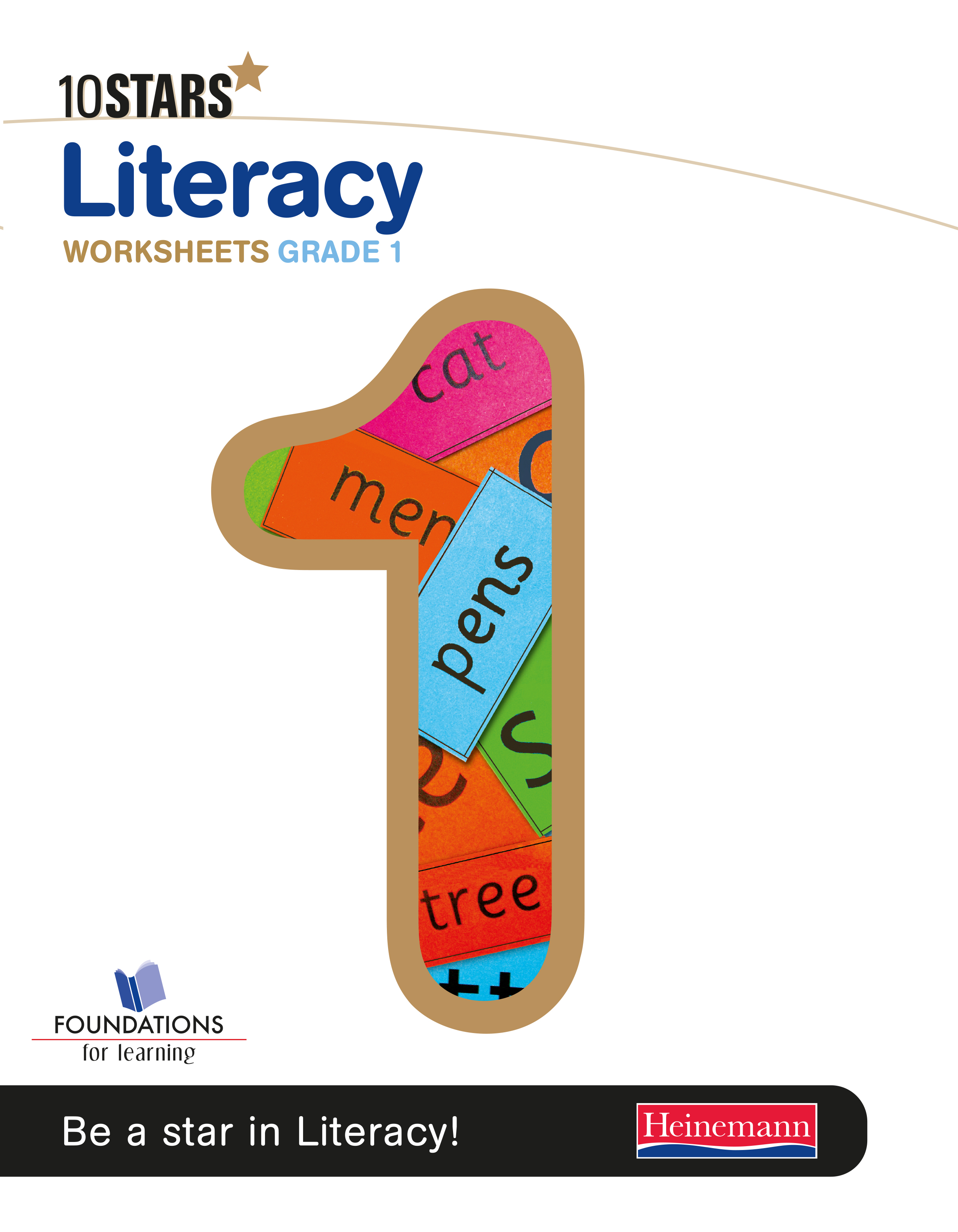 Picture of 10 Stars literacy: Grade 1: Workbook