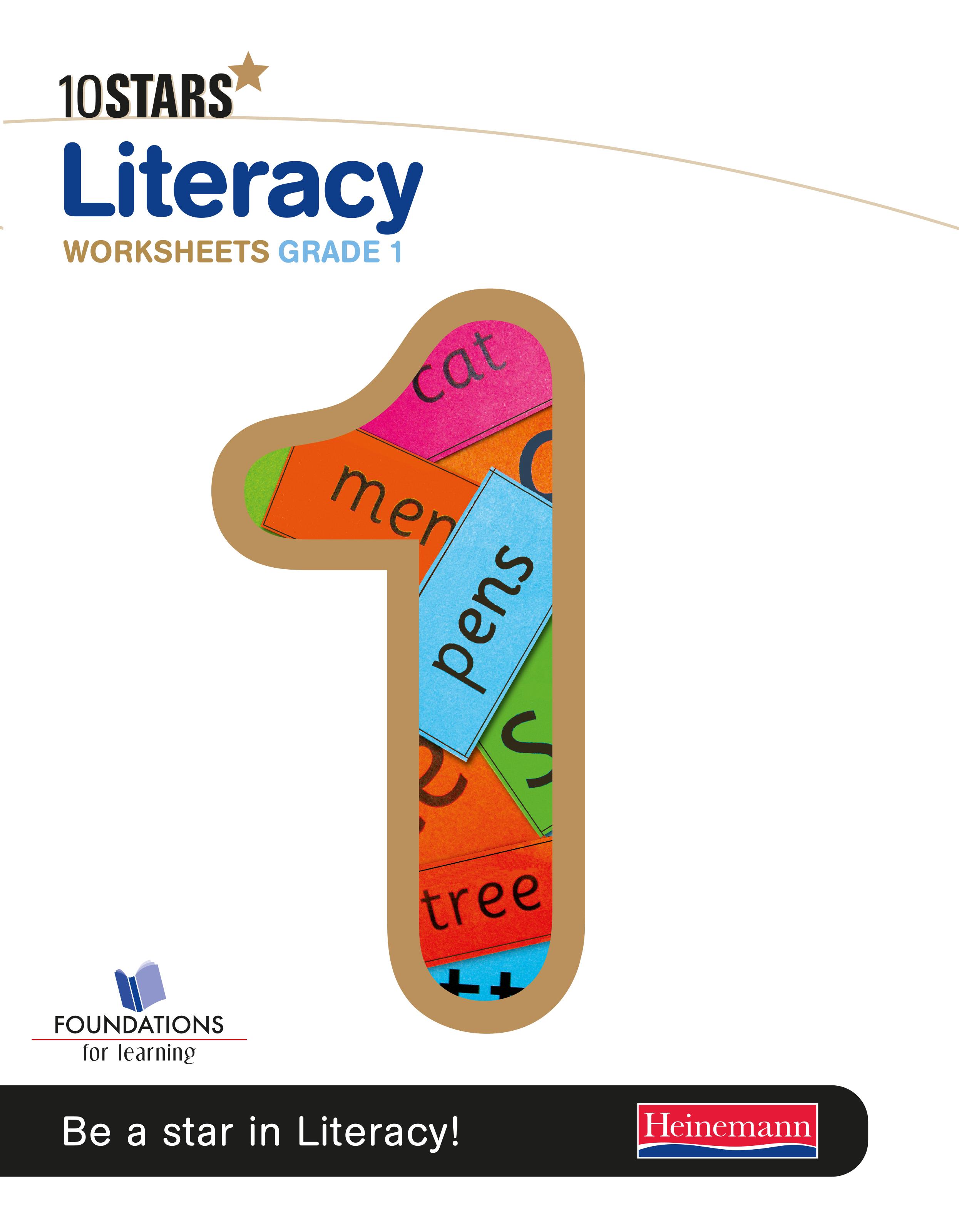Picture of 10 Stars literacy: Grade 1: Workbook