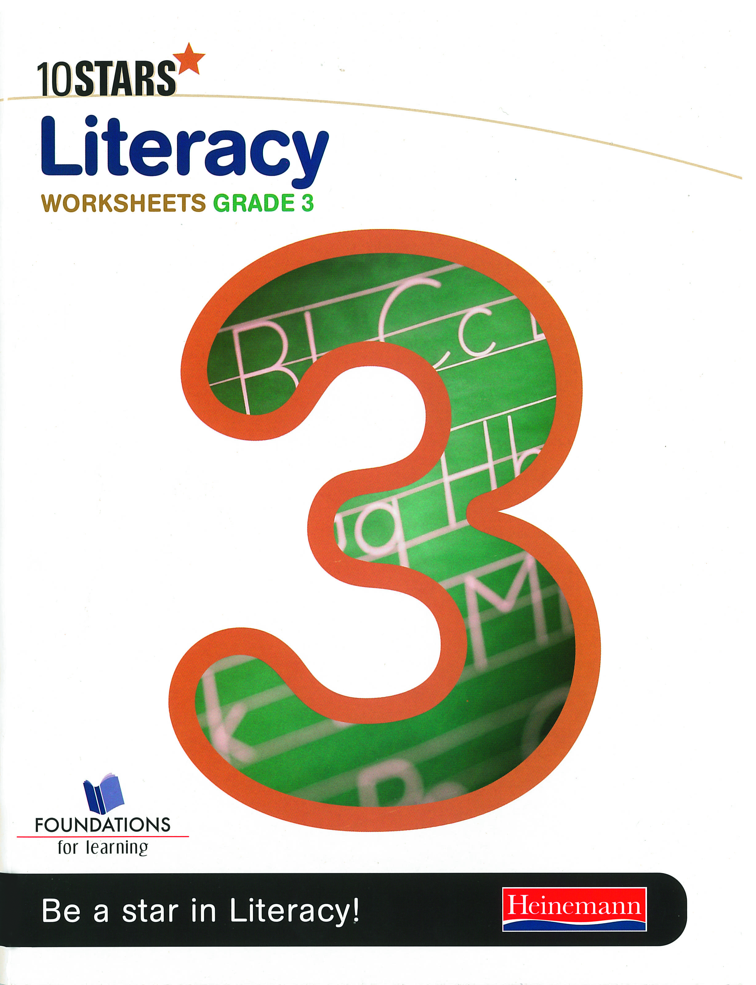 Picture of 10 Stars literacy: Grade 3: Workbook