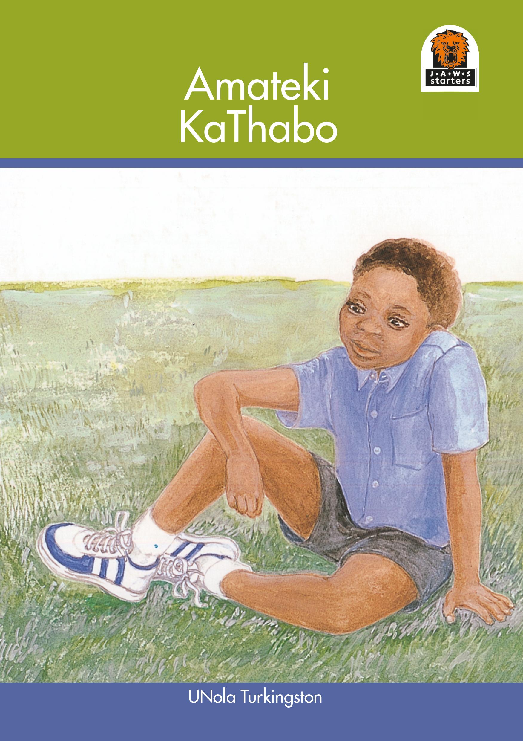 Picture of Amateki kathabo: Gr 1 - 3: Reader