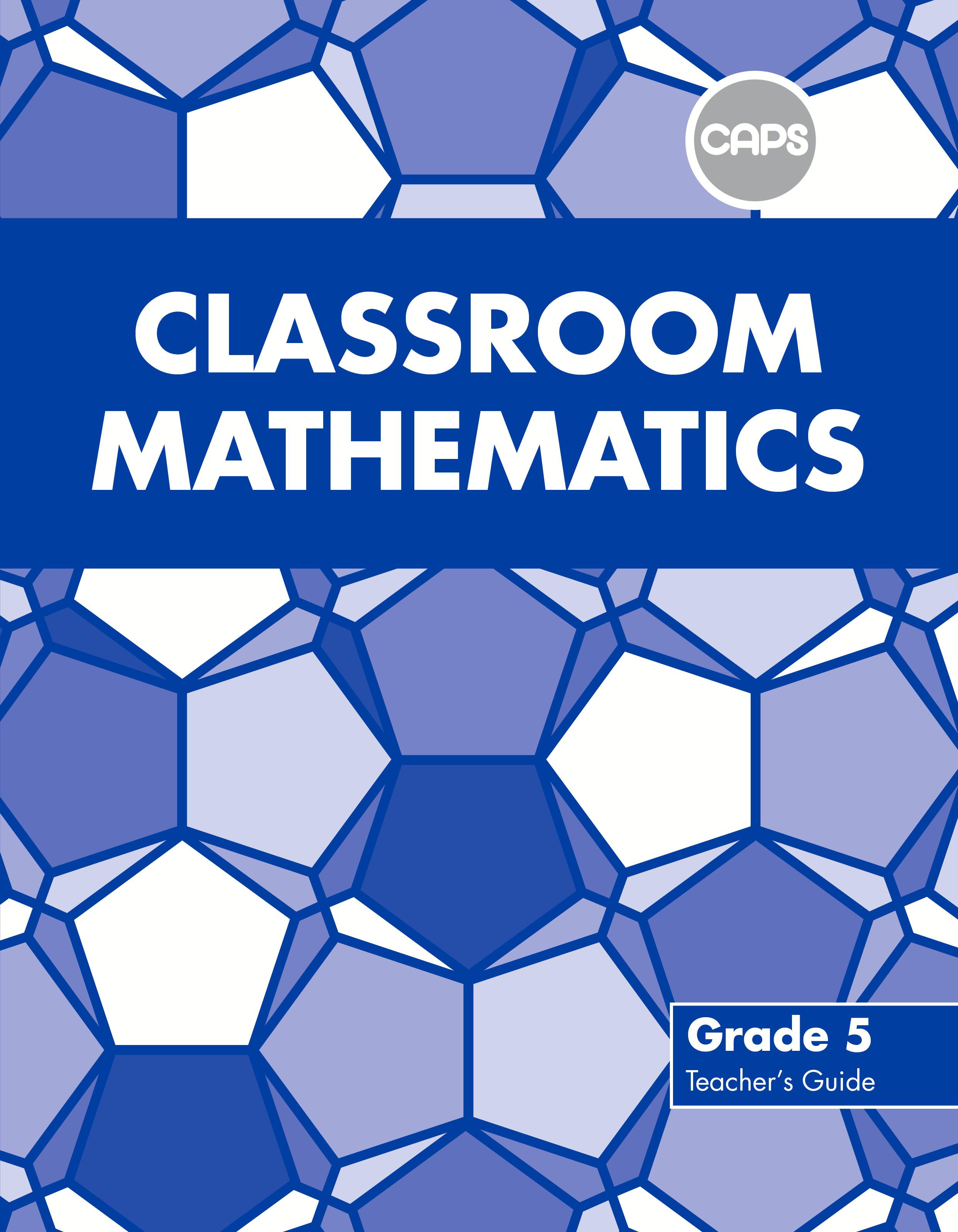 Picture of Classroom mathematics CAPS aligned