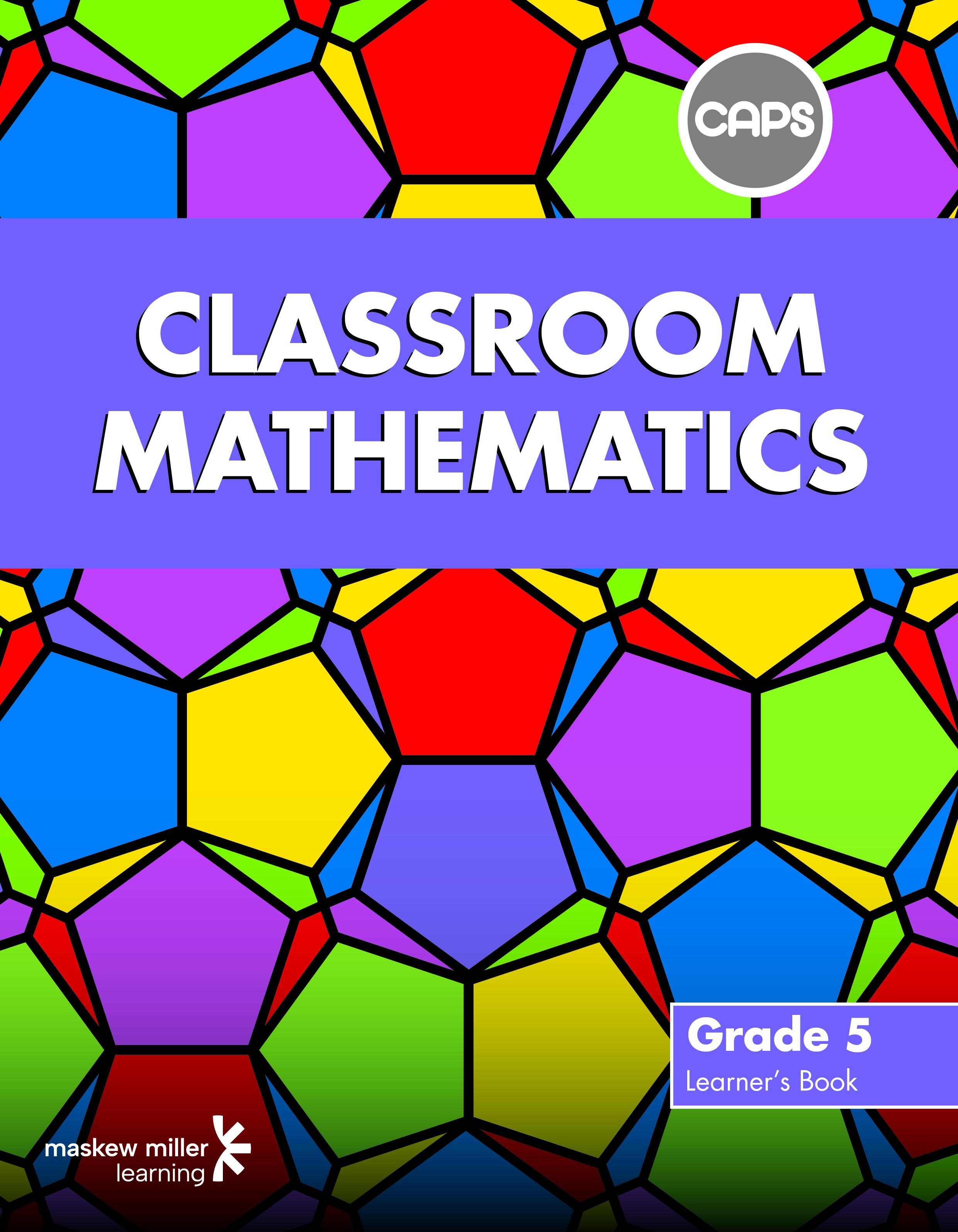 Picture of Classroom mathematics CAPS