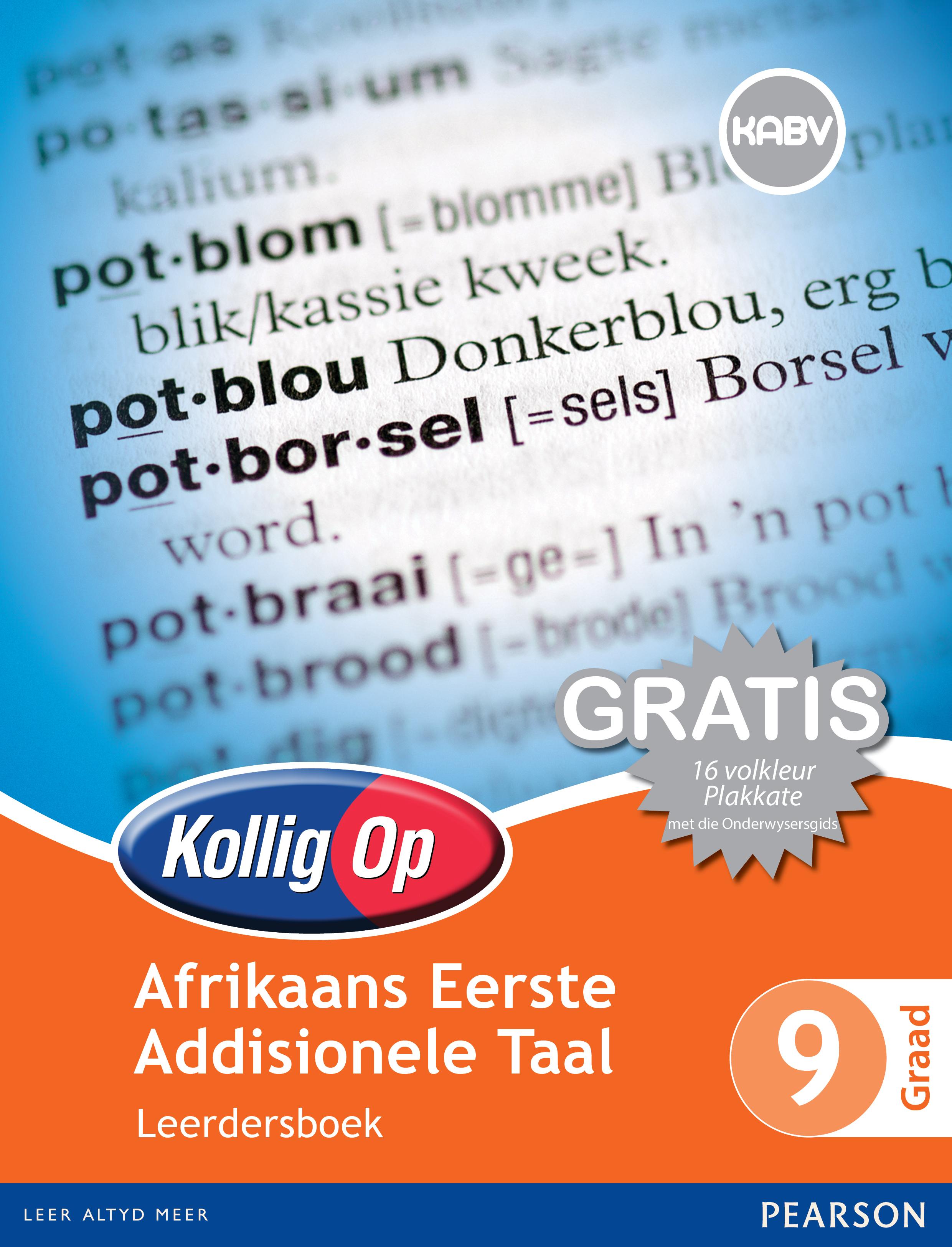 Picture of Kollig Op Afrikaans Eerste Addisionele Taal: Graad 9: Leerdersboek