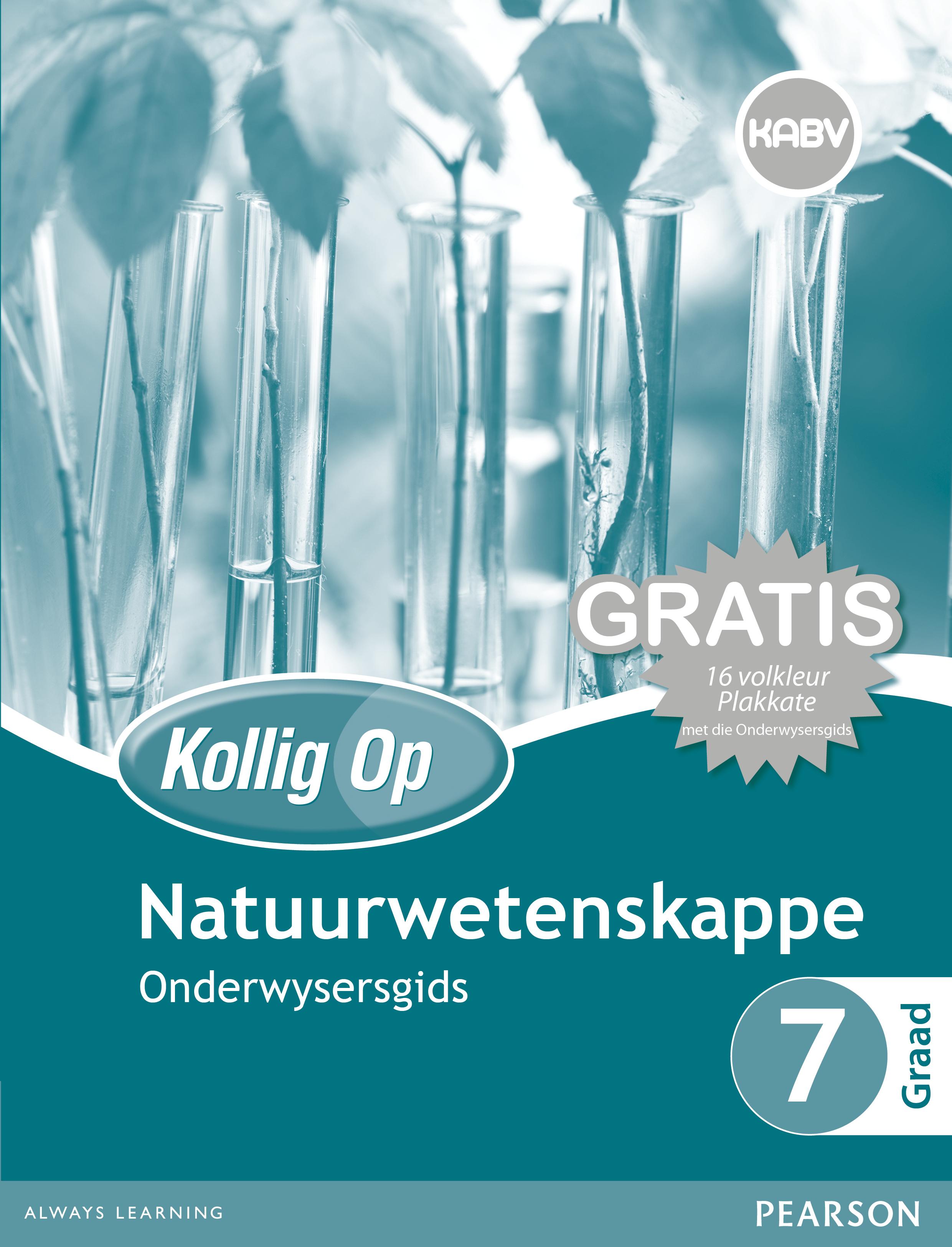 Picture of Kollig Op Natuurwetenskappe: Graad 7: Onderwysersgids en Gratis Plakaat Pak