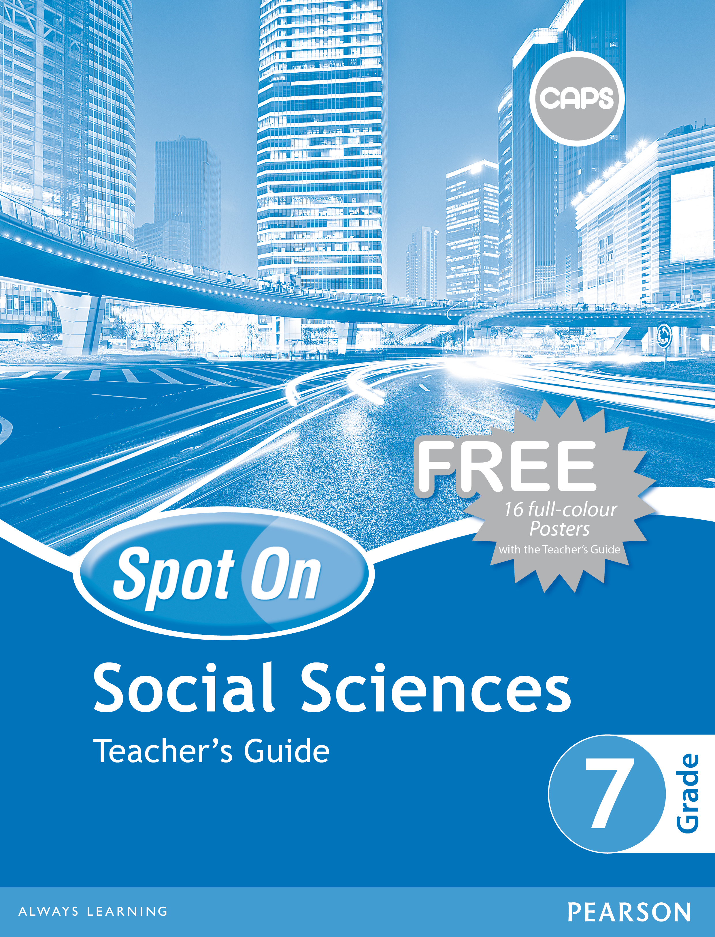 Picture of Spot On Social Sciences: Grade 7: Teacher's Guide and Free Poster Pack