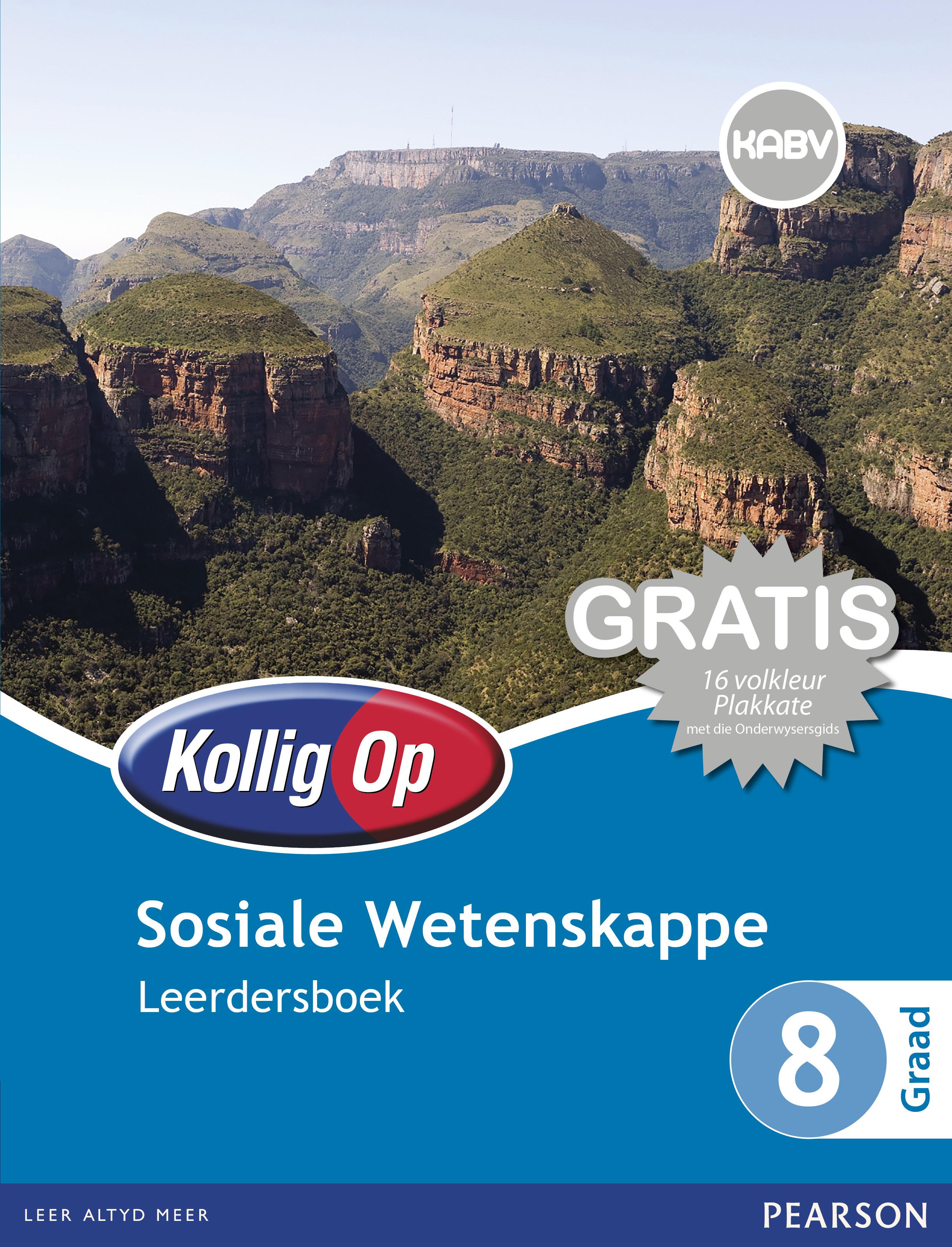 Picture of Kollig Op Sosiale Wetenskappe: Graad 8: Leerdersboek