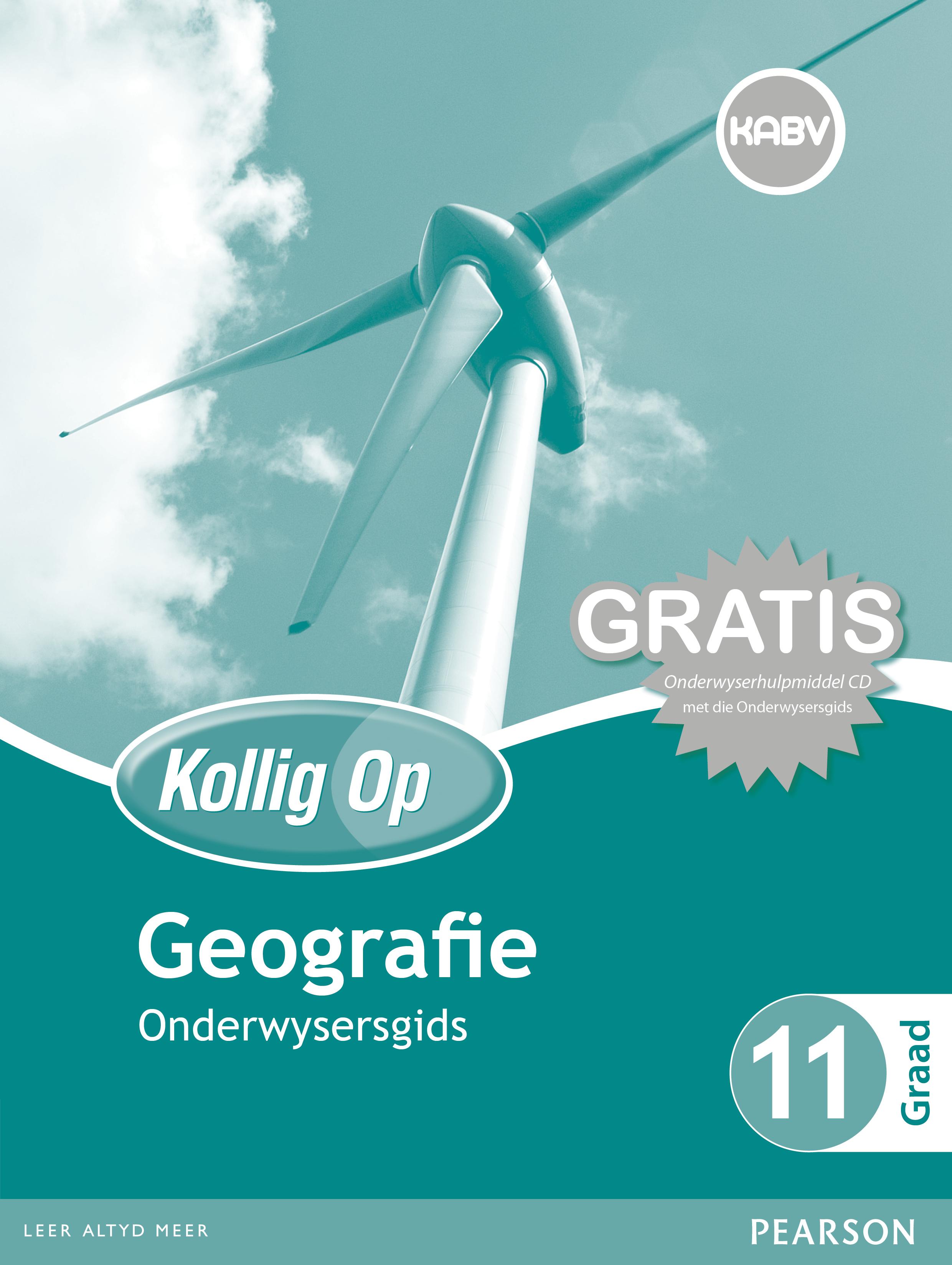 Picture of Kollig Op Geografie : Graad 11 : Onderwysersgids en Gratis Onderwyserhulpmiddel CD