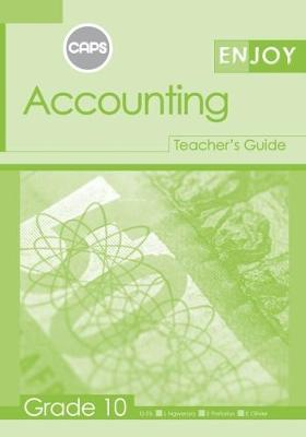 Picture of Enjoy Accounting: Grade 10: Teacher's Guide